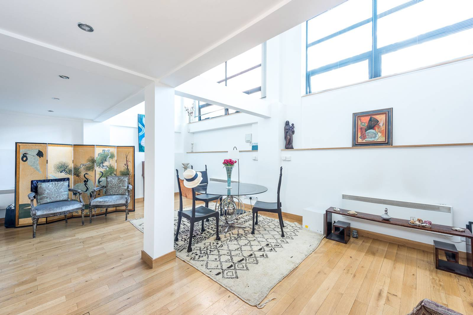warehouse conversion,Dining room