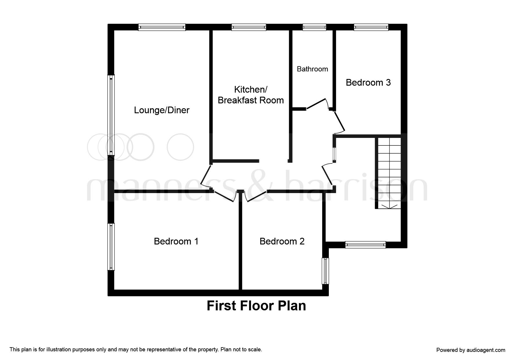 hastings way  billingham ts23  3 bedroom flat for sale