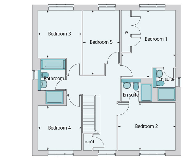 520 000 5 bedroom property for sale in smartnewhomes for Trademark quality homes floor plans