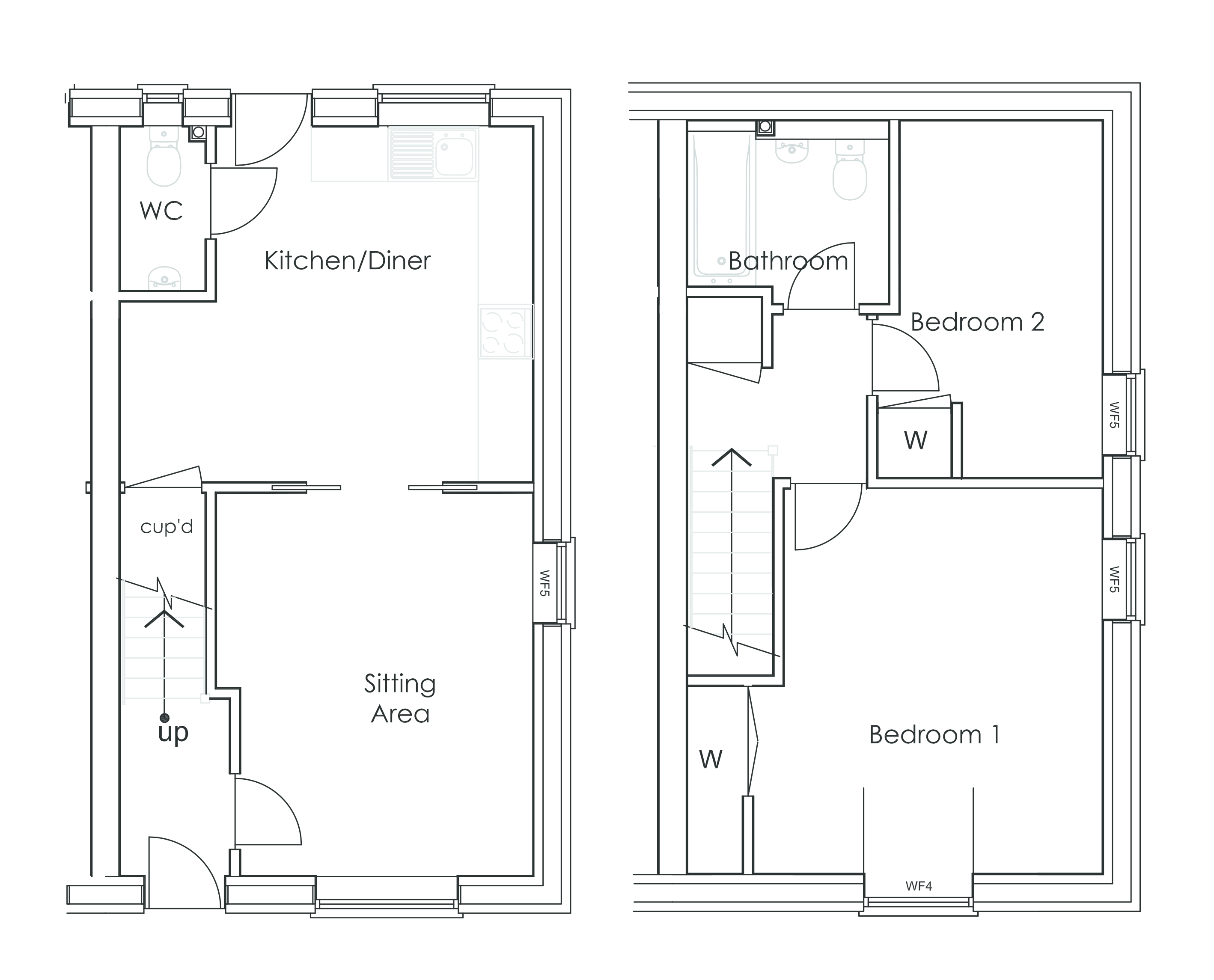 Lopham Road East Harling Nr16 2 Bedroom Semi Detached House For