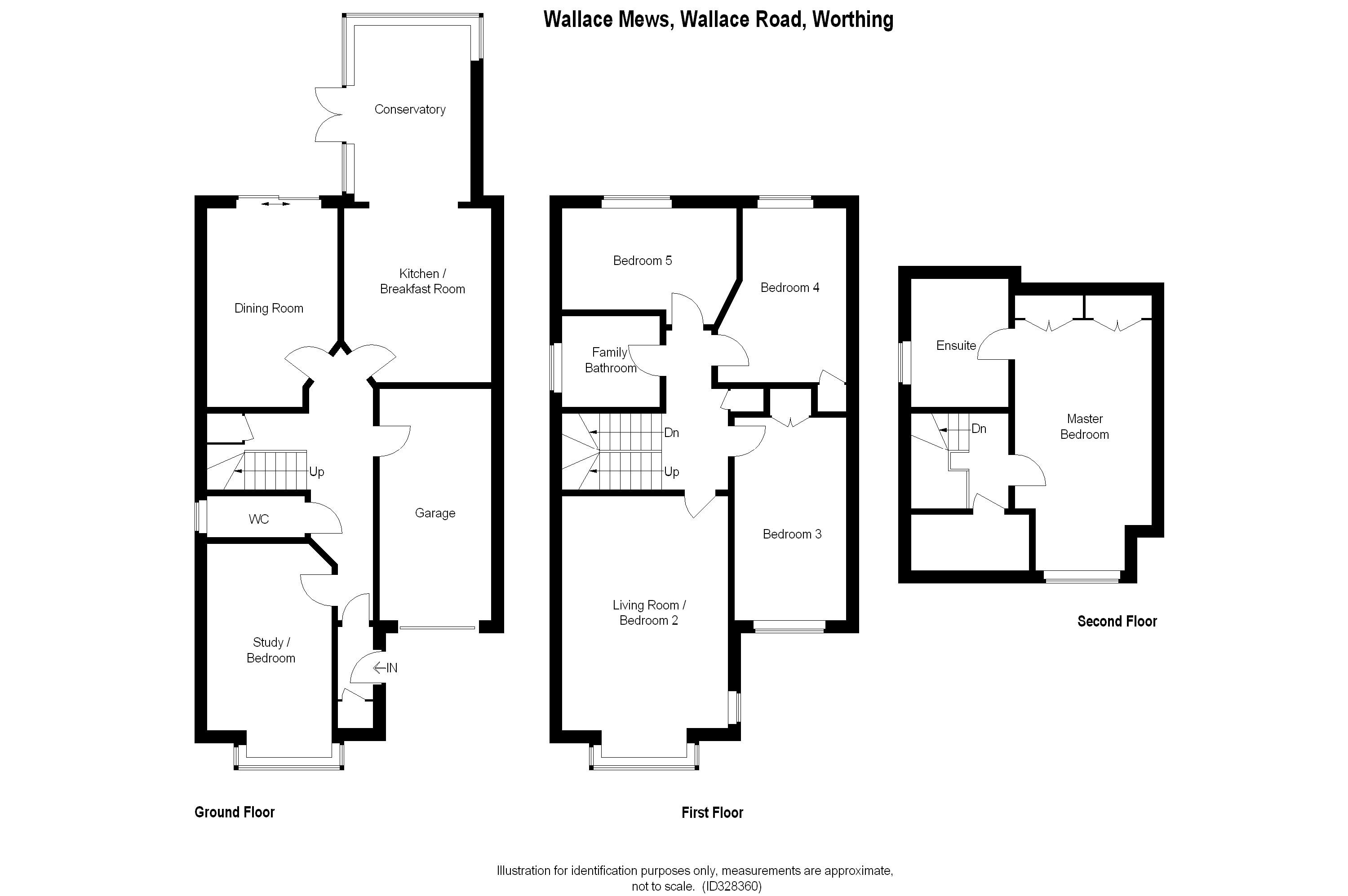 5 bed semi detached house for sale in wallace mews for 15 bruyeres mews floor plans