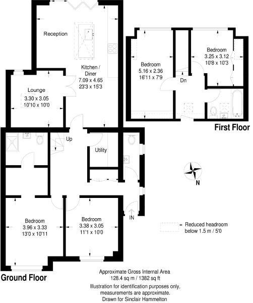 St Johns Road Petts Wood Orpington Br5 4 Bedroom Semi