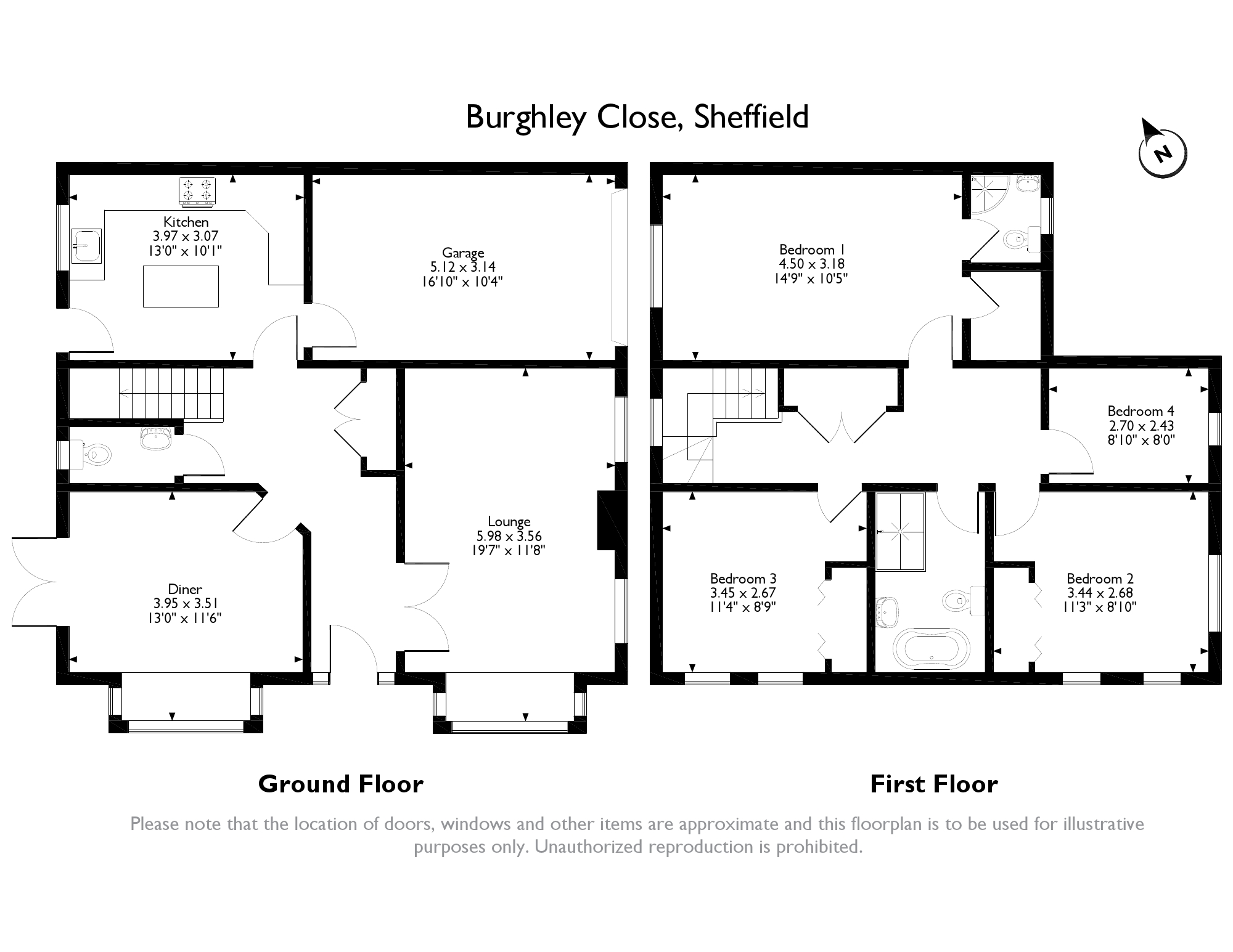 4 Bedrooms Detached house for sale in Burghley Close, Sheffield S25