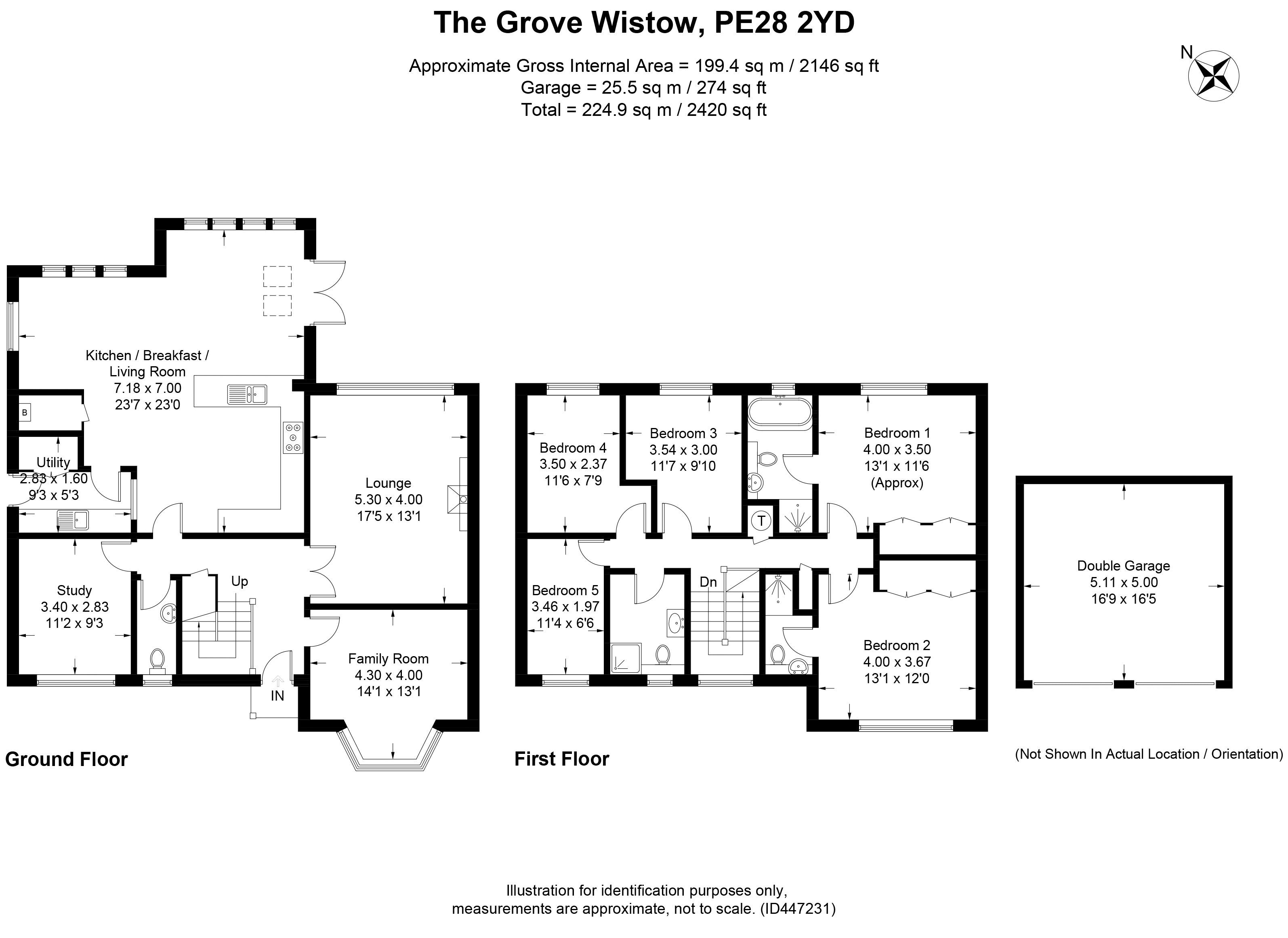 The Grove, Wistow, Huntingdon PE28, 5 bedroom detached house