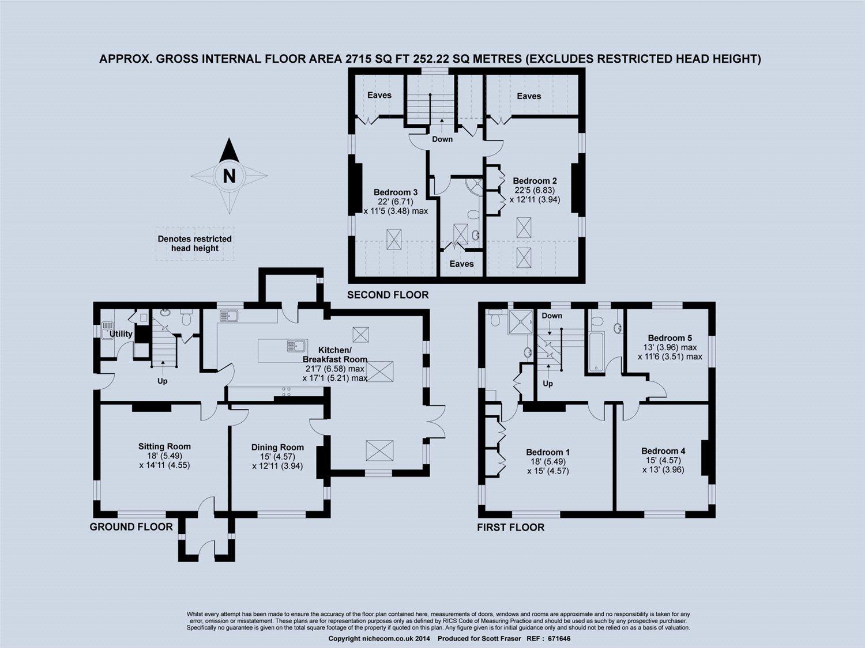 Osler Road, Headington, Oxford OX3, 5 bedroom detached house to rent ...