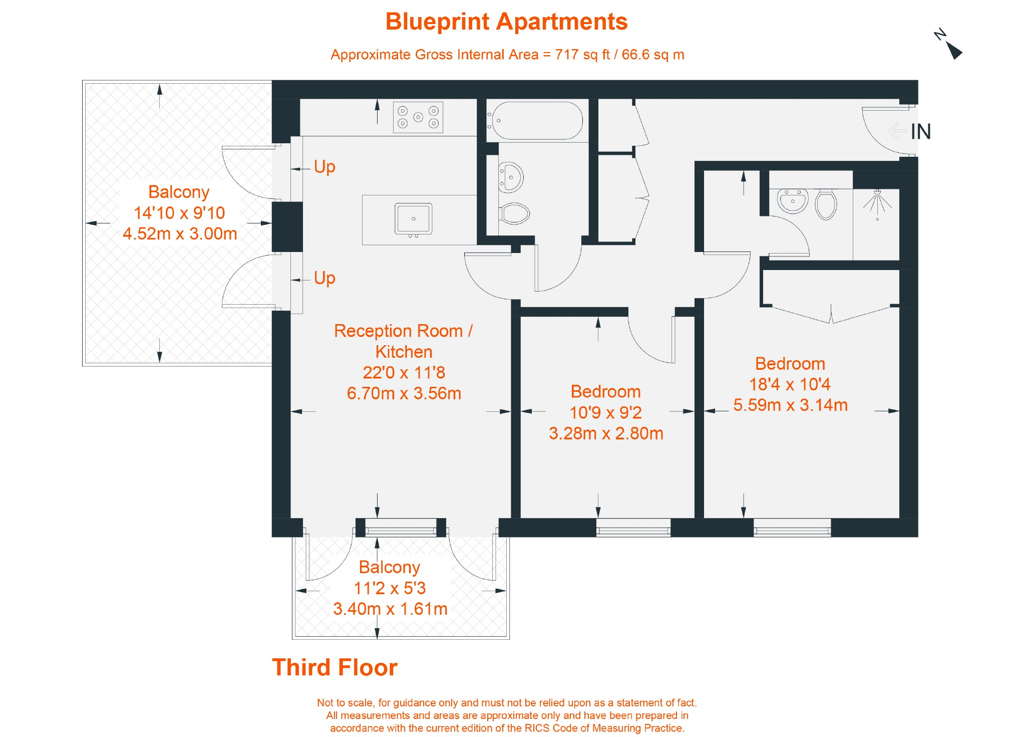 Blueprint apartments balham grove balham sw12 2 bedroom flat for view original malvernweather Images