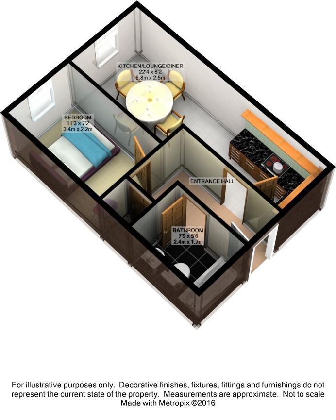 London Road Portsmouth Po2 1 Bedroom Flat For Sale