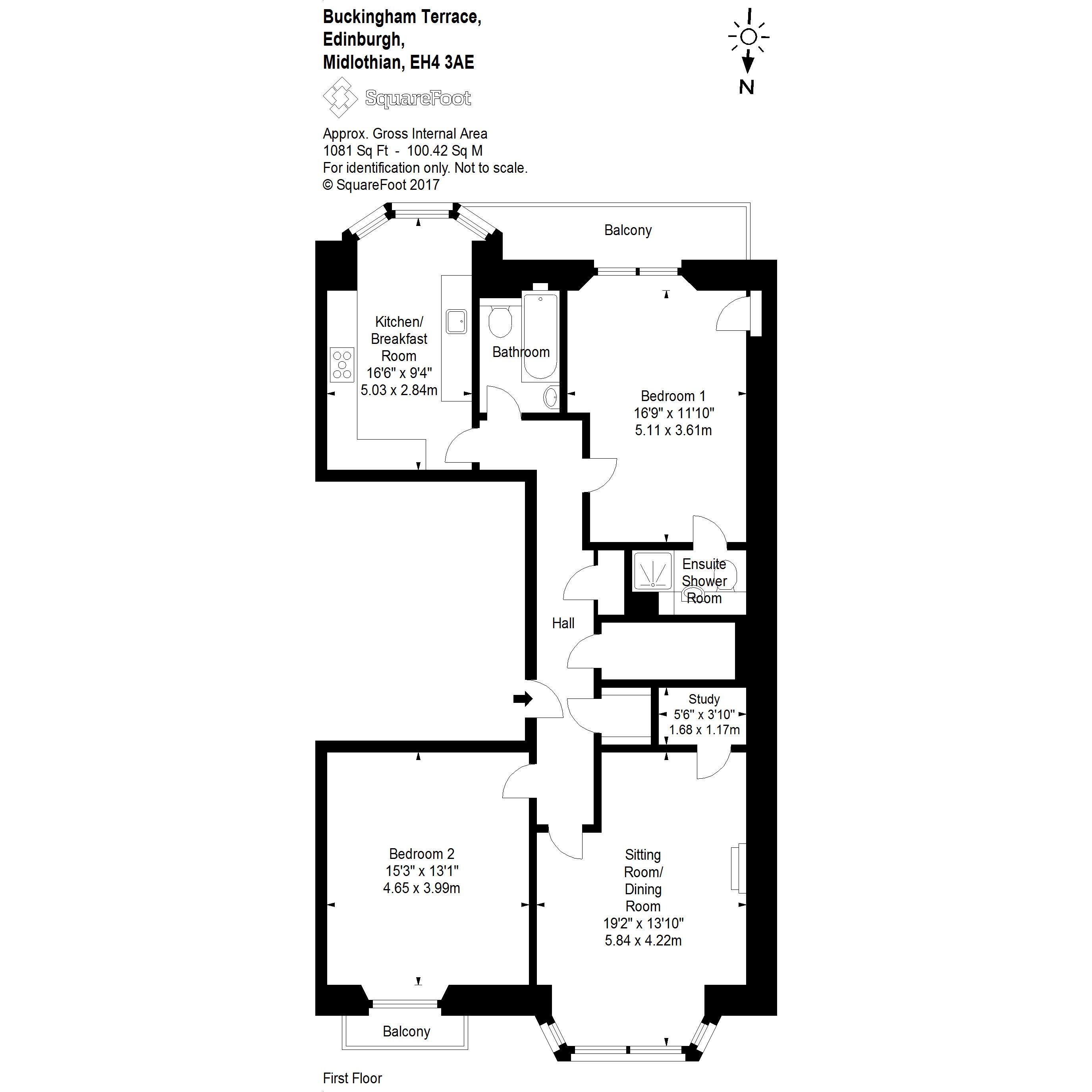 2 bed flat for sale in 23 1 buckingham terrace west end for 23 ravelston terrace edinburgh