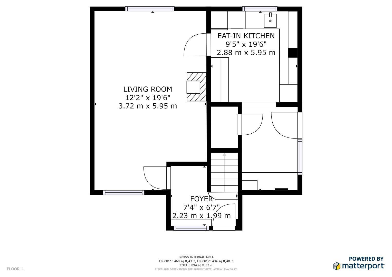 Dee Lane, Clayton, Newcastle-Under-Lyme ST5, 3 bedroom semi