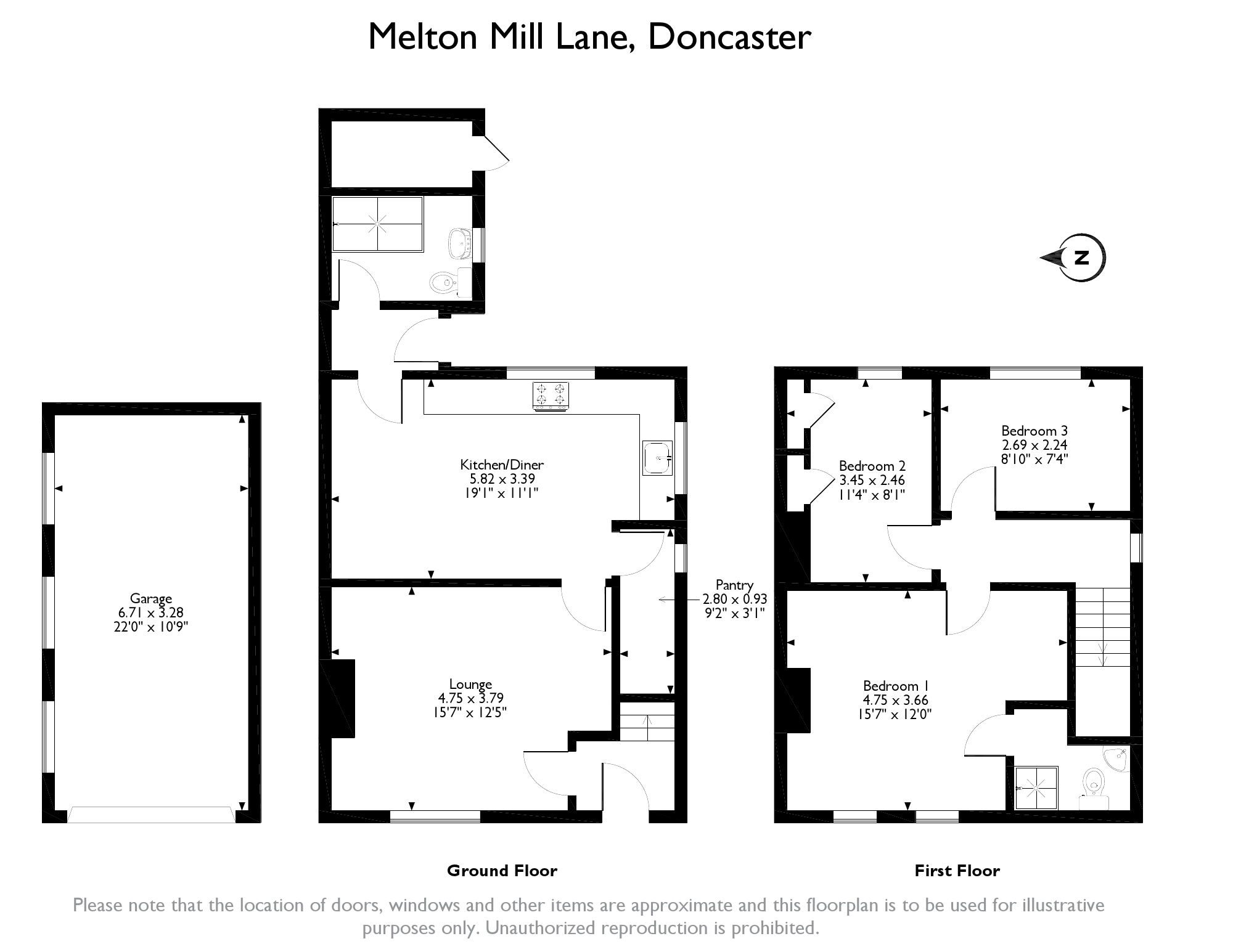 3 Bedrooms Semi-detached house for sale in Melton Mill Lane, High Melton, Doncaster DN5