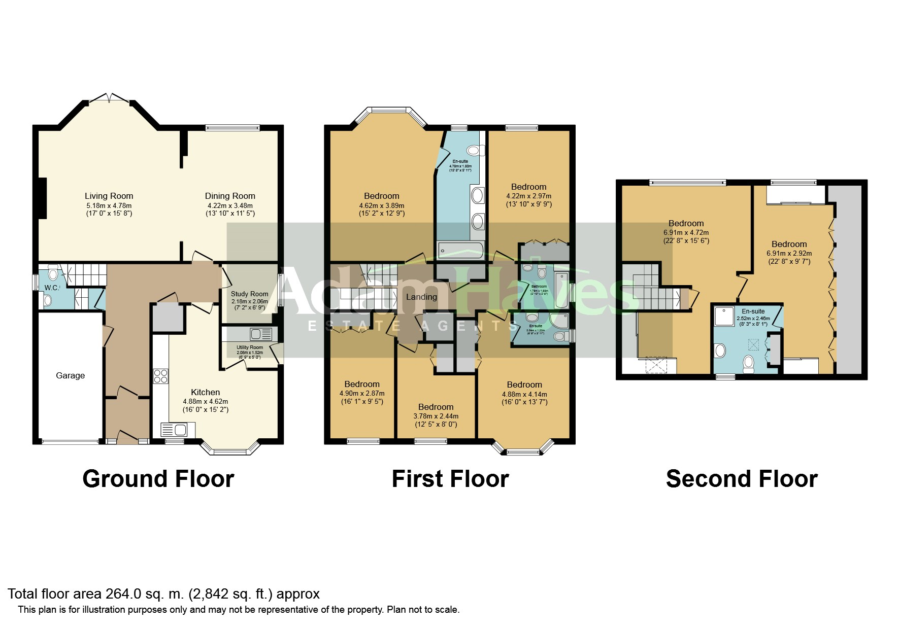 6 Bedrooms Detached house to rent in Lyndhurst Gardens, Finchley Central, London N3