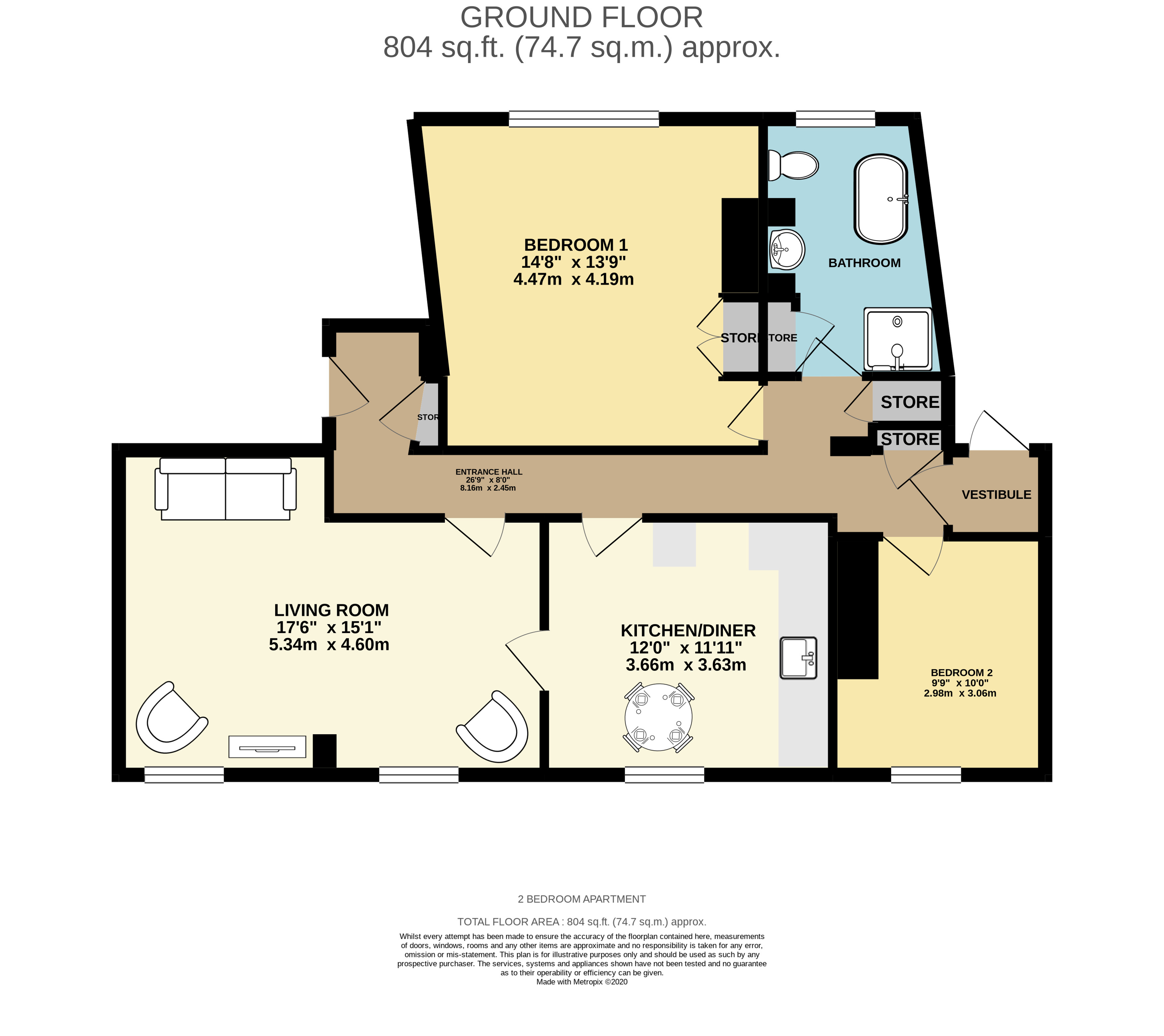 Abbey Hill Abbey End Kenilworth Cv8 2 Bedroom Flat For Sale 57255980 Primelocation