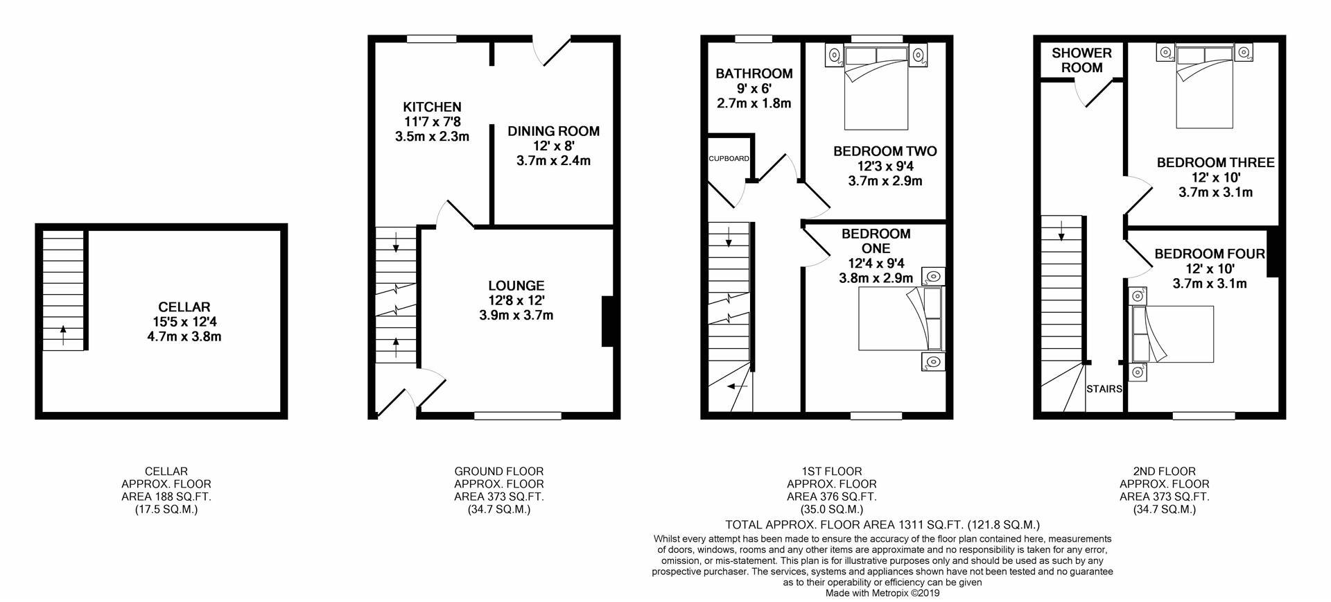 4 Bedrooms End terrace house for sale in Parkside, Horsforth, Leeds LS18