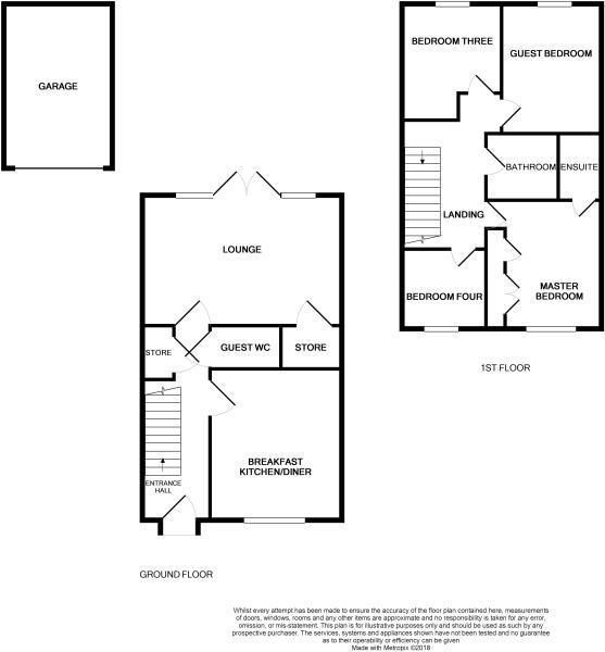 4 Bedrooms  for sale in Jefferson Walk, Stafford ST16