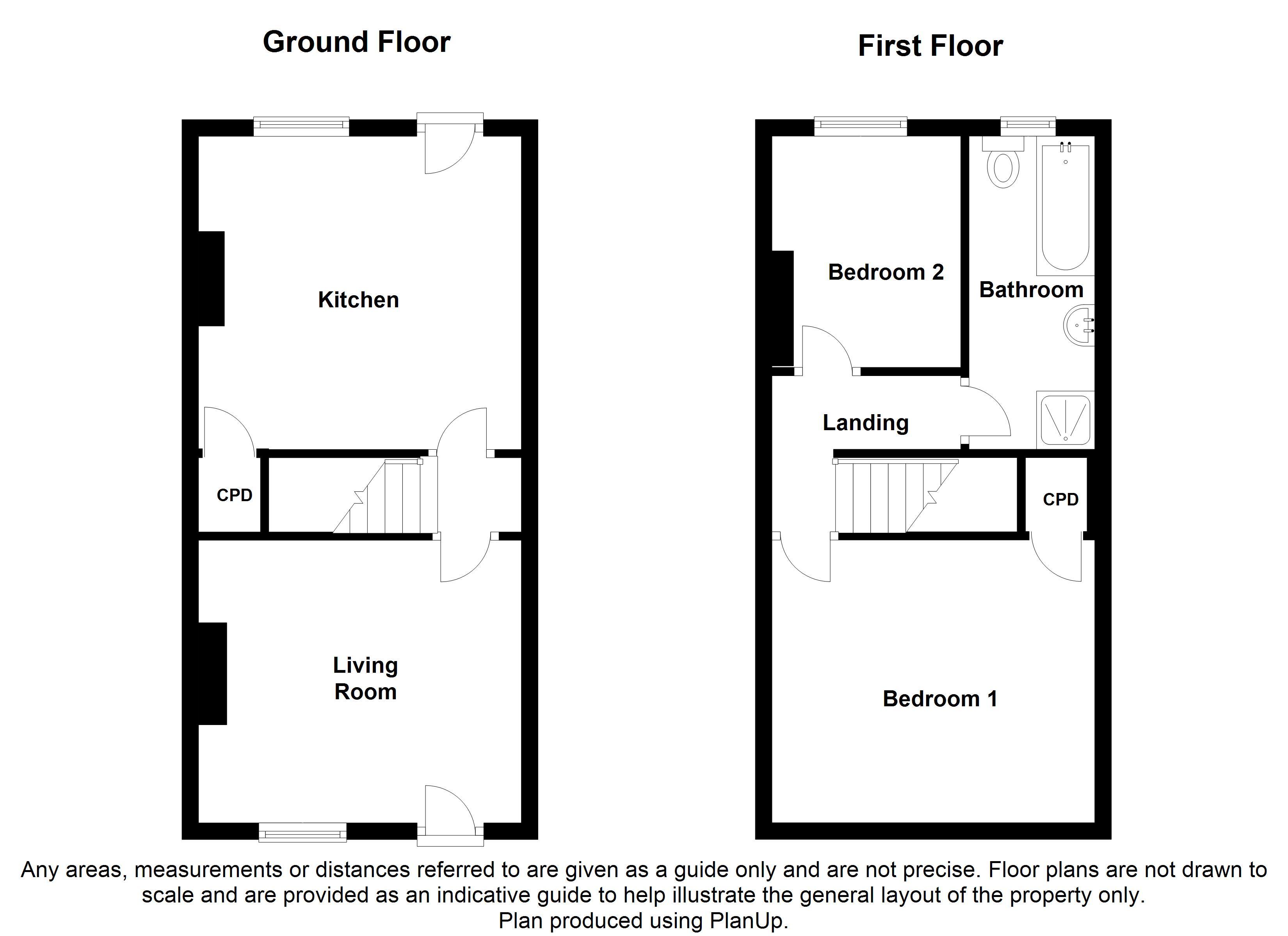 Egerton road swallownest sheffield s26 2 bedroom for Sheffield floor plan