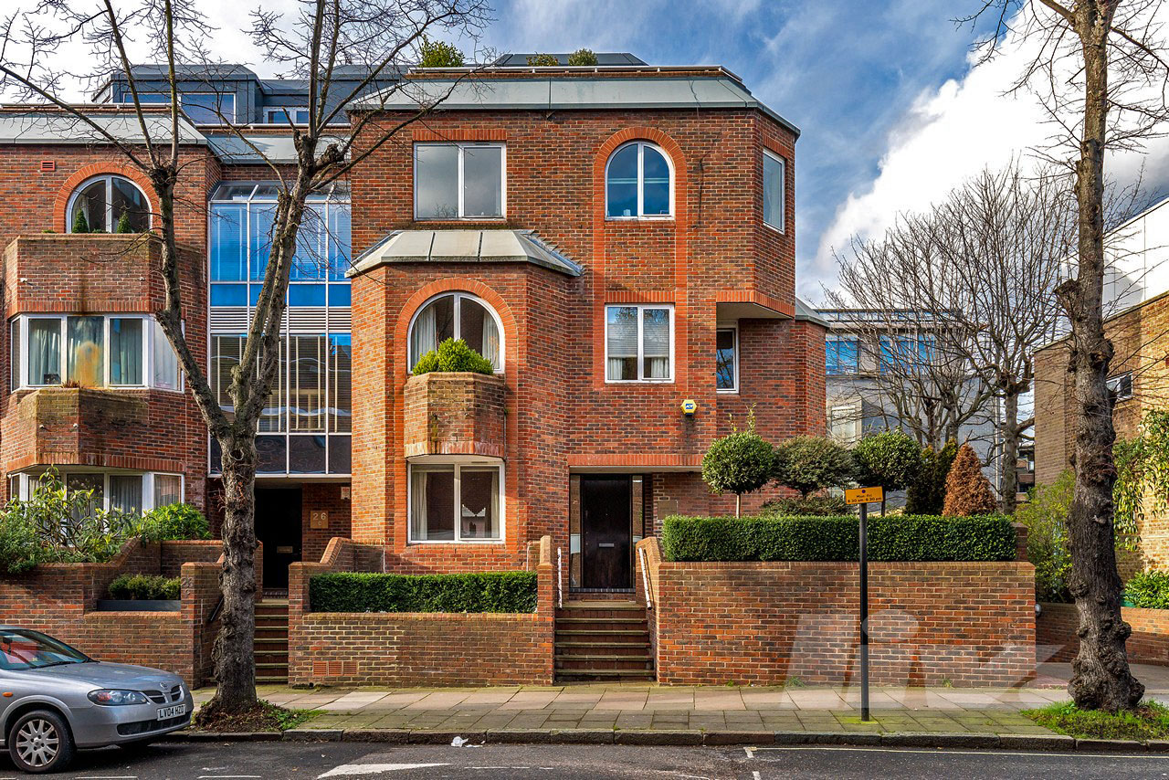 4 Bedroom Terraced House For Sale In Penthouse 1 Avenue Road St Johns Wood Nw8 London