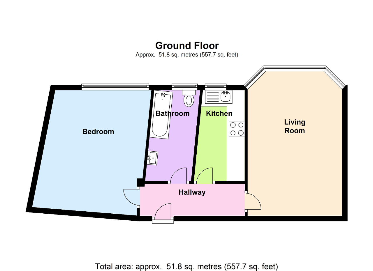 Barons Court Road Barons Court W14 1 Bedroom Flat To