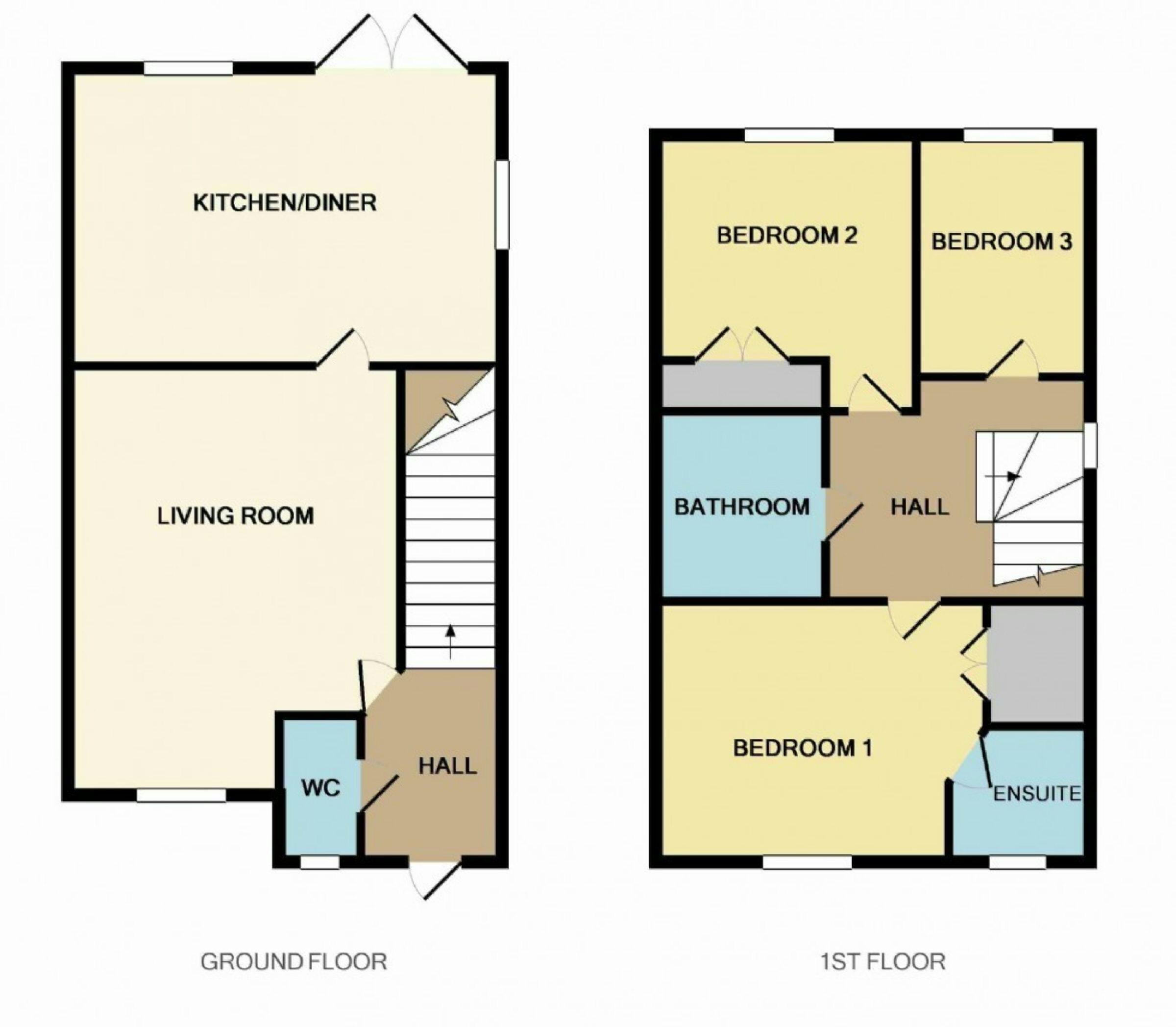 3 bedroom detached house for sale 44509001 primelocation for Barclays floor plan