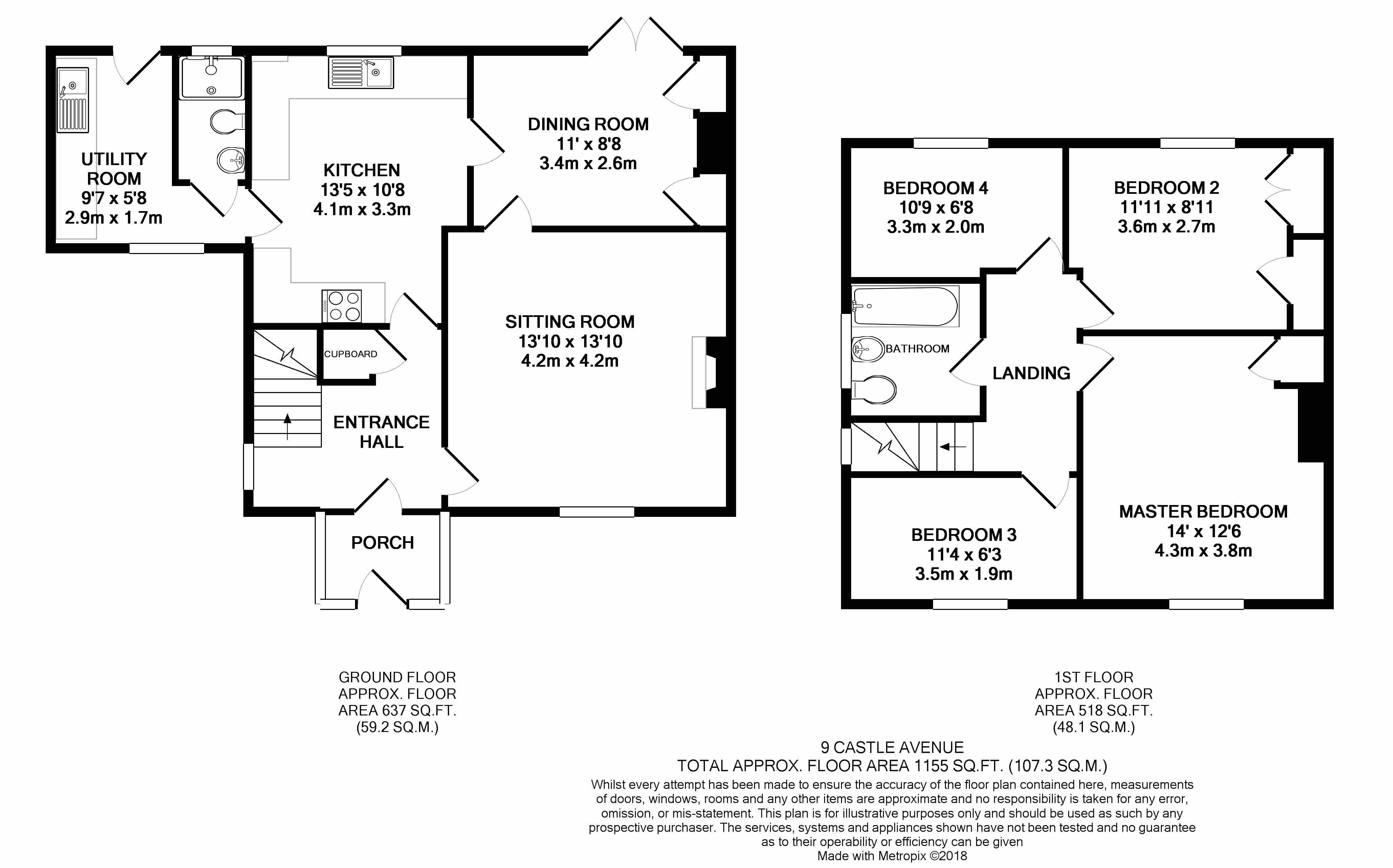 Castle avenue okeford fitzpaine blandford forum dt11 4 for Blandford homes floor plans