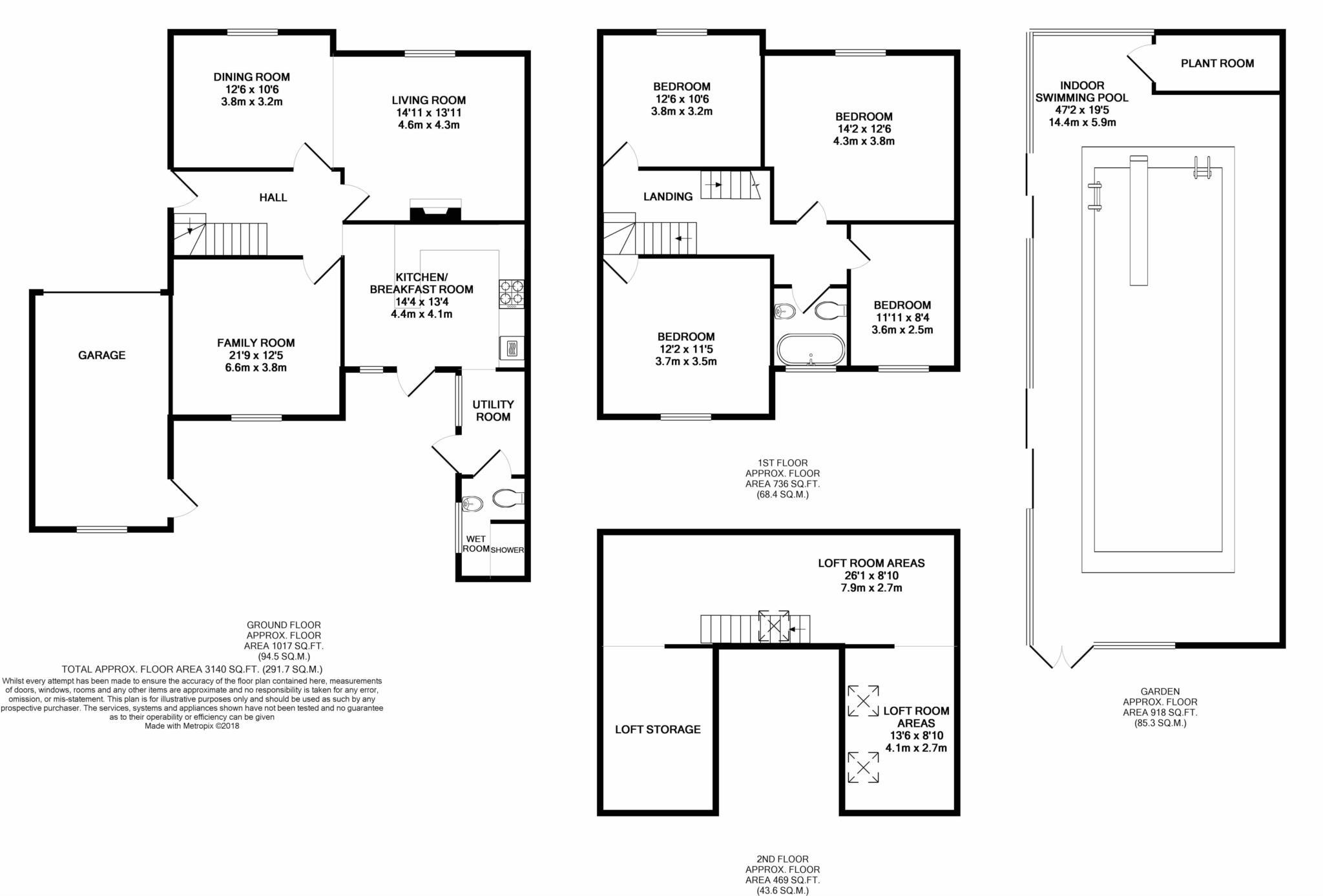 4 Bedroom Semi Detached House For Sale In Woodside Road Watford Wd25 London