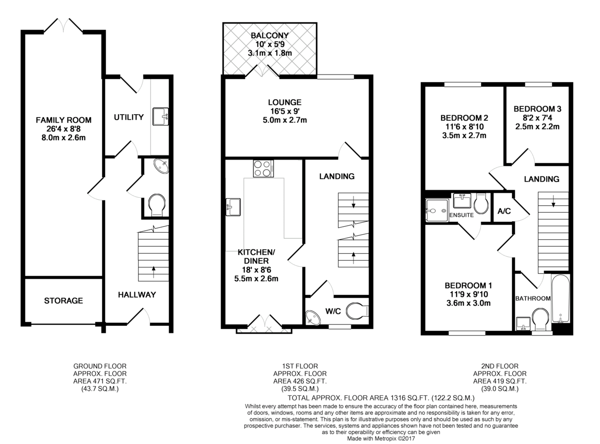 Wilkinson Place Witney Ox28 3 Bedroom End Terrace House For Sale 42575285 Primelocation