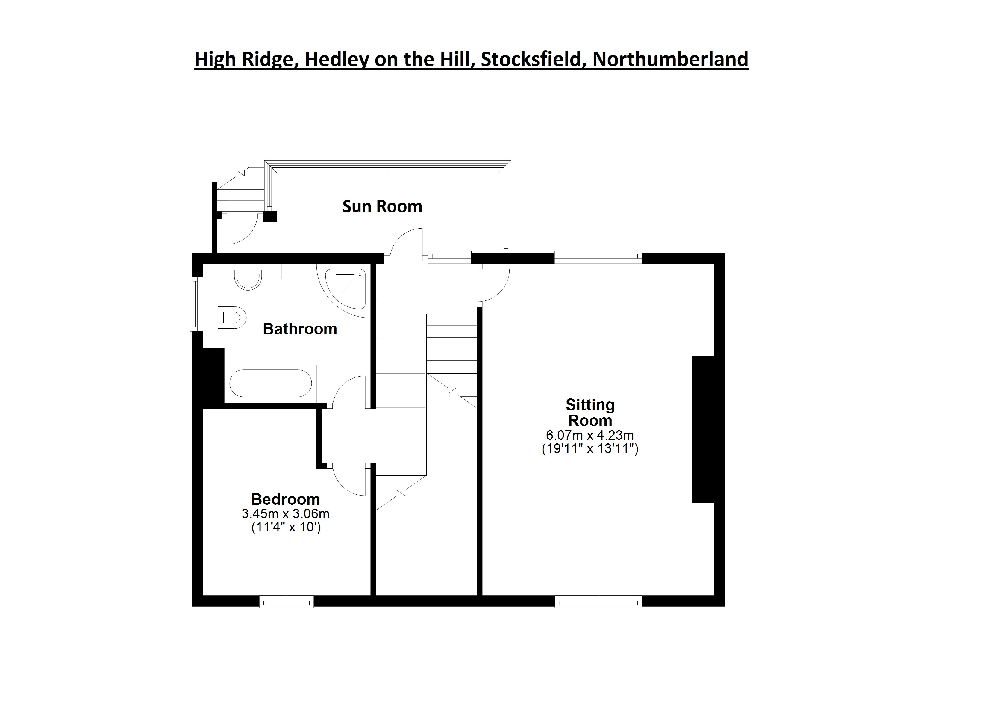 High Ridge Hedley On The Hill Stocksfield Northumberland Ne43 4 Bedroom Detached House For Sale 53212646 Primelocation