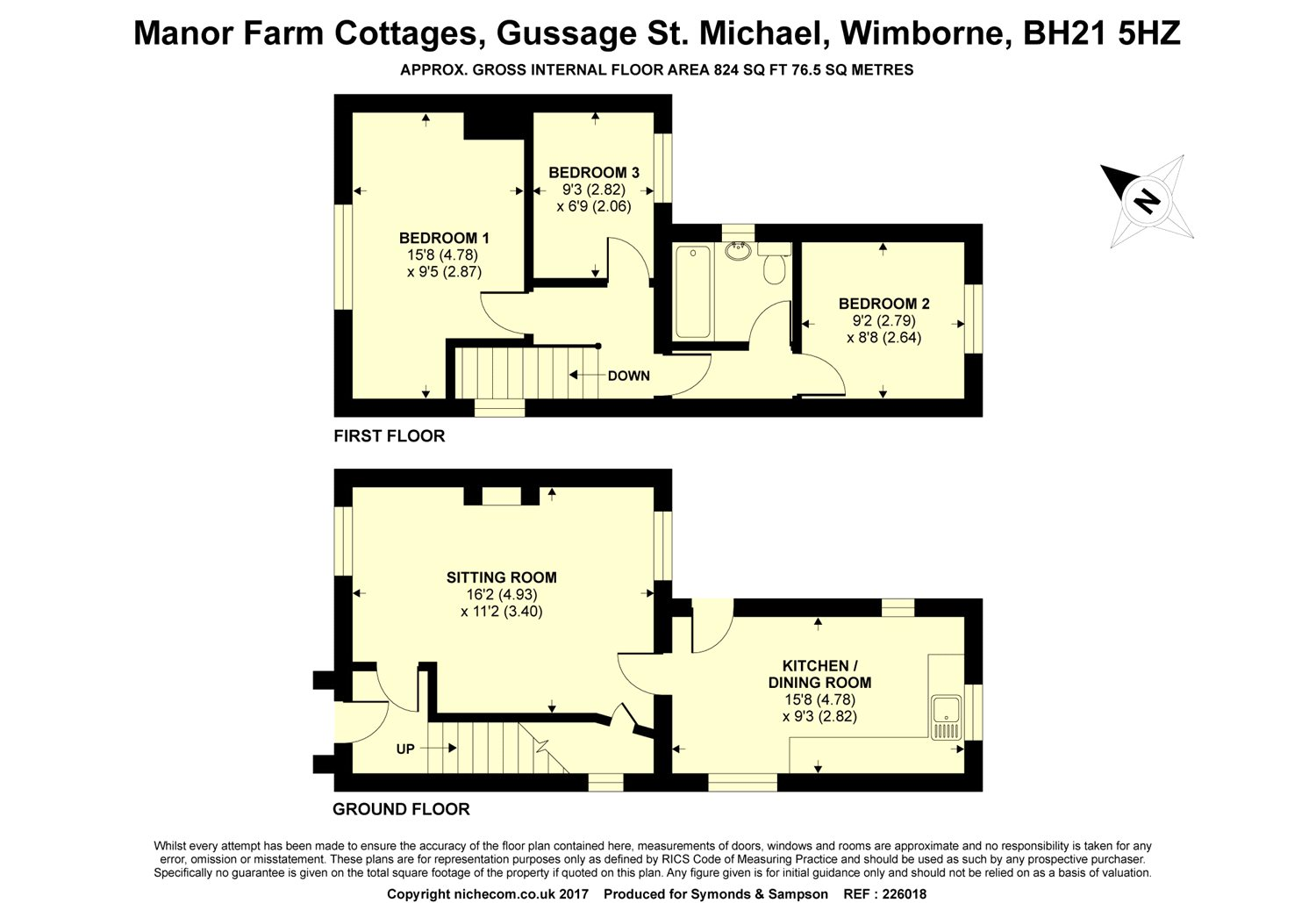 Manor Farm Cottages Gussage St Michael Wimborne Dorset