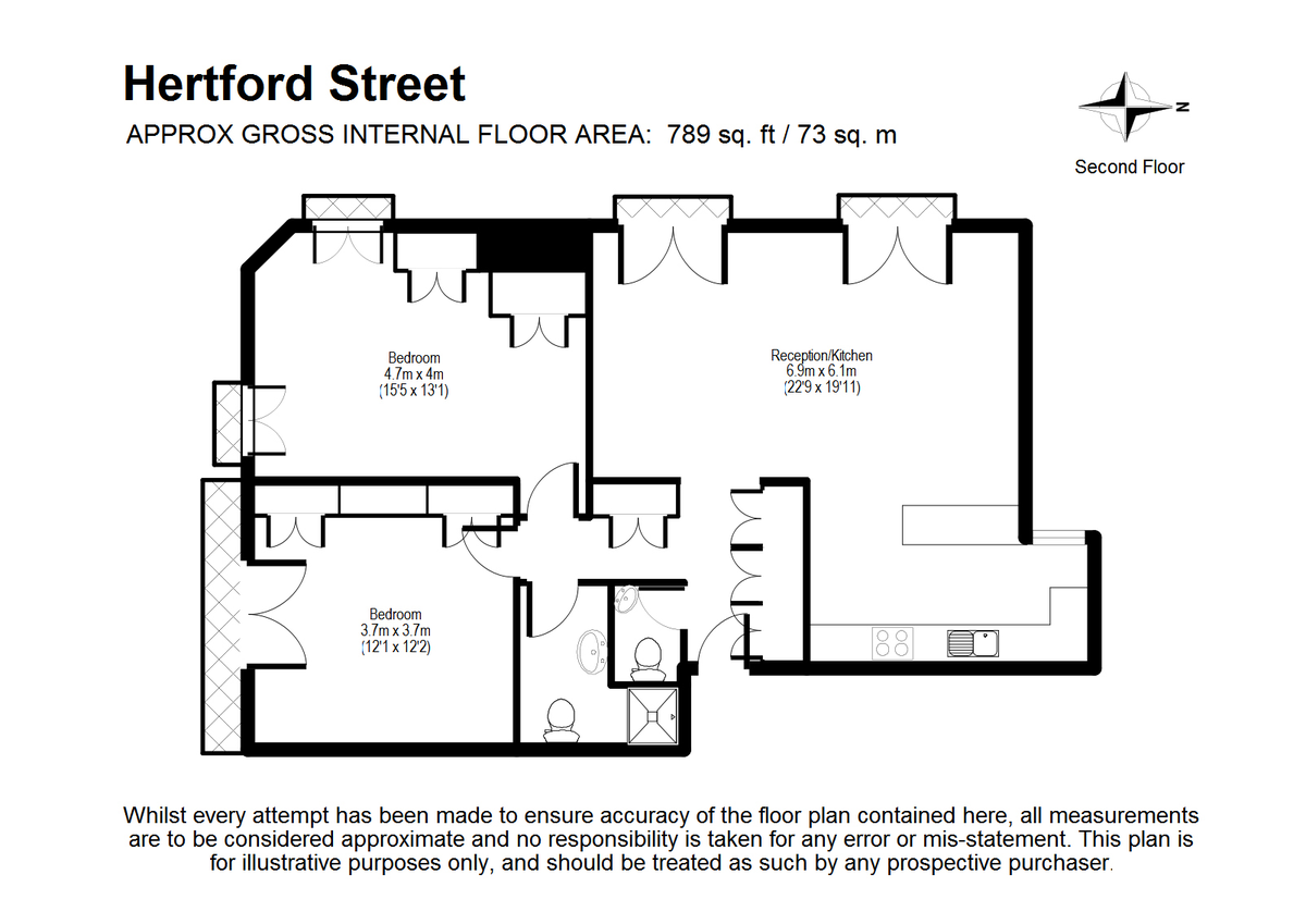 bed flat to rent in carrington house hertford street mayfair w1j