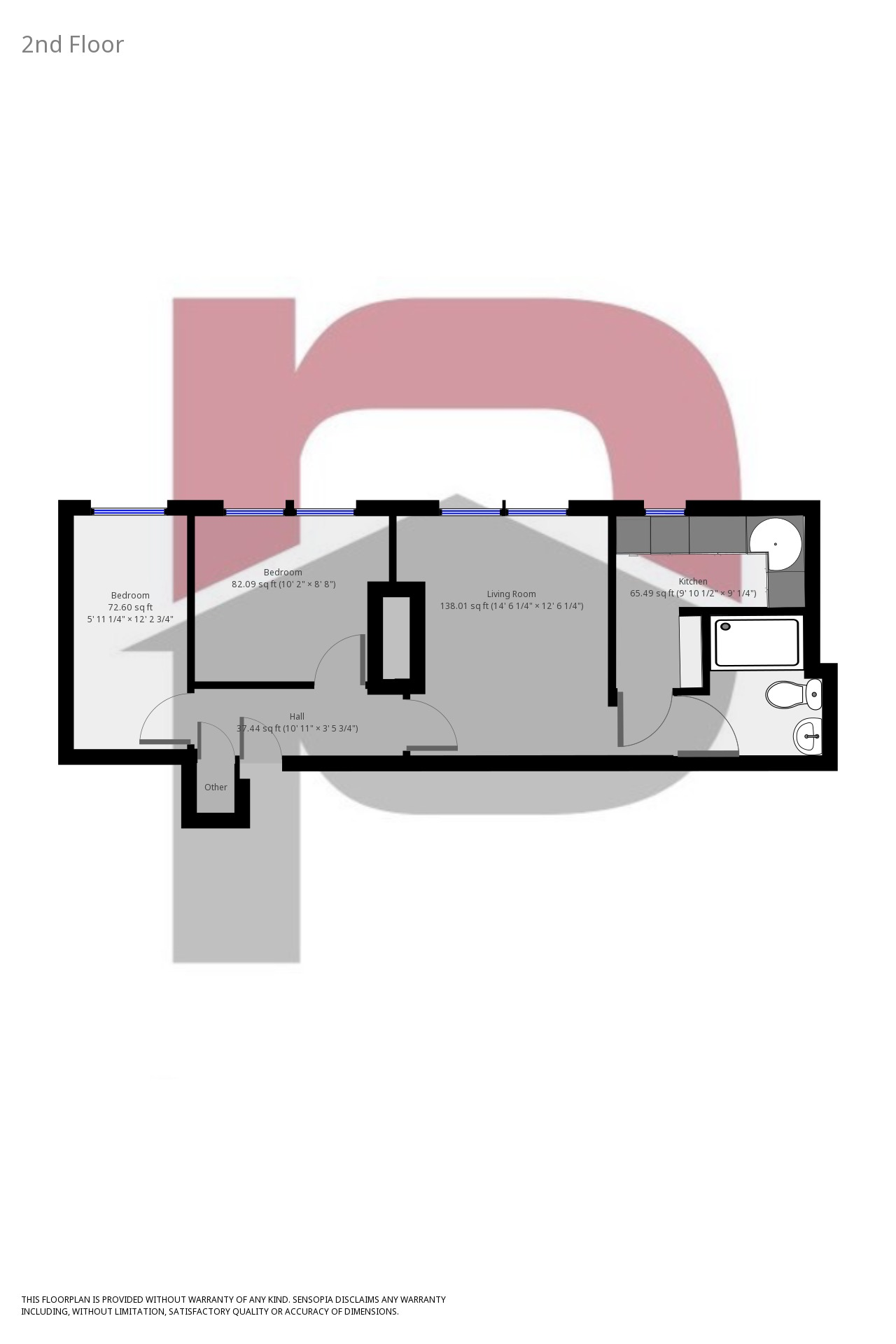 2 Bedrooms Flat to rent in Westminster House, 89A Queen St, Morley LS27