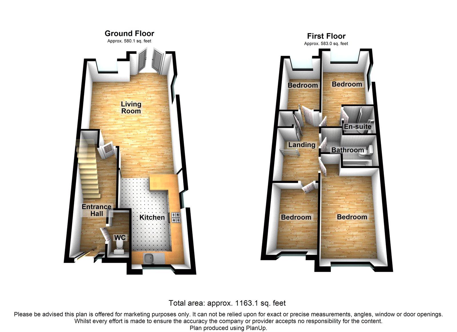 Bed House In Staplehurst For Sale