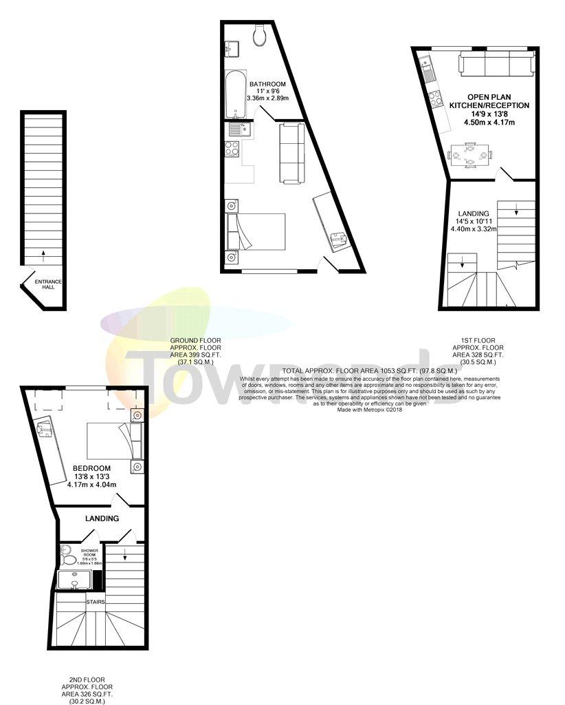 2 Bed Flat For Sale In Twickenham Road Isleworth Tw7 Zoopla
