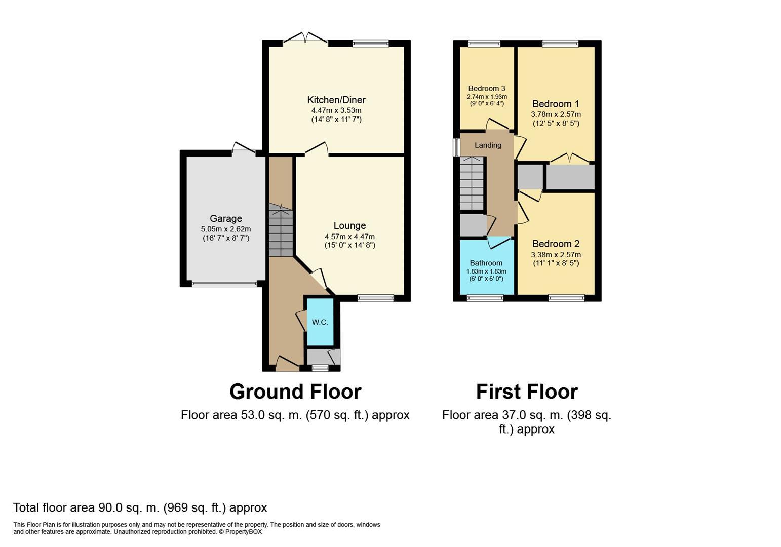 3 Bedrooms End terrace house for sale in Glendower Approach, Heathcote, Warwick CV34