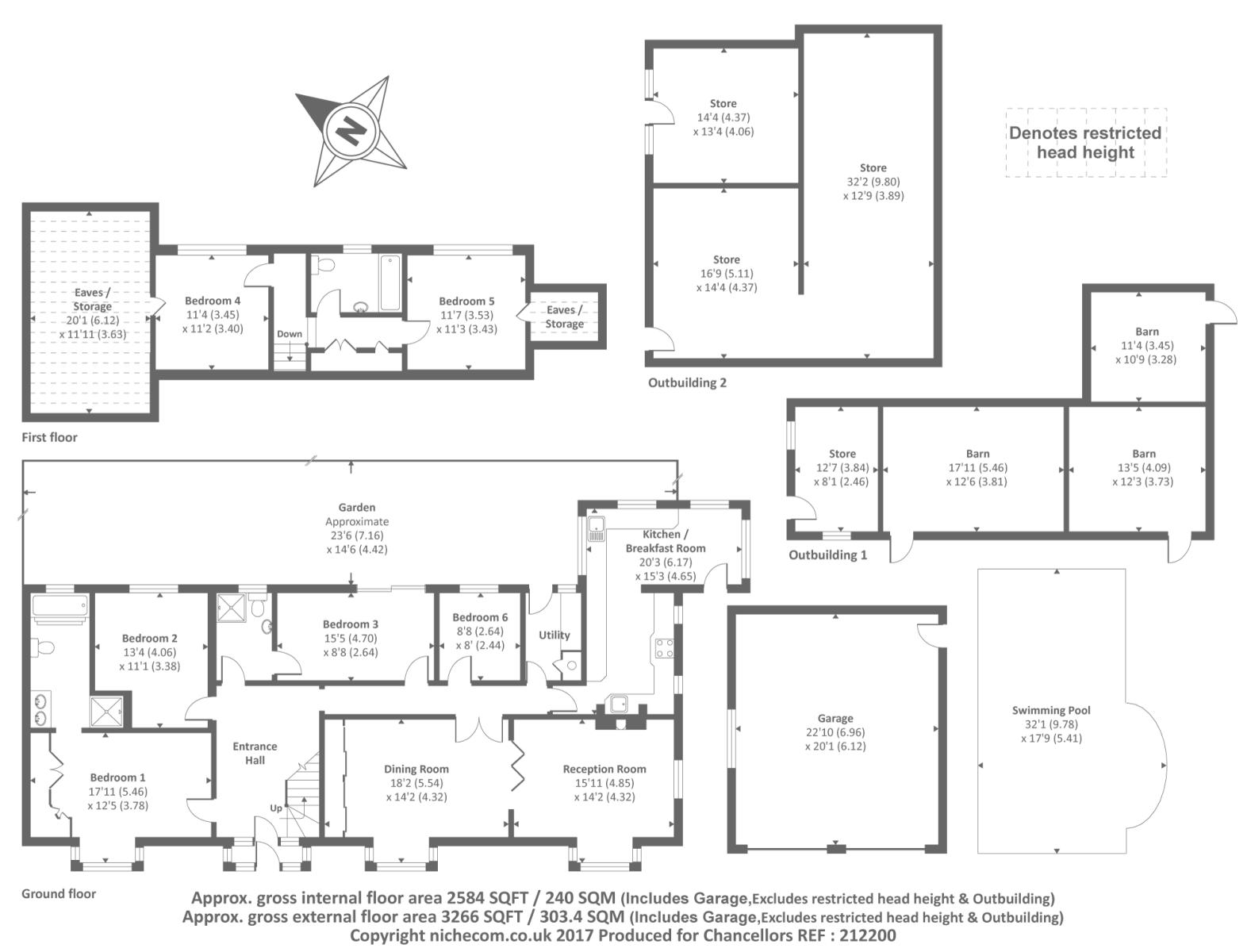 Chesham Buckinghamshire Hp5 5 Bedroom Detached Bungalow For Sale 44864065 Primelocation
