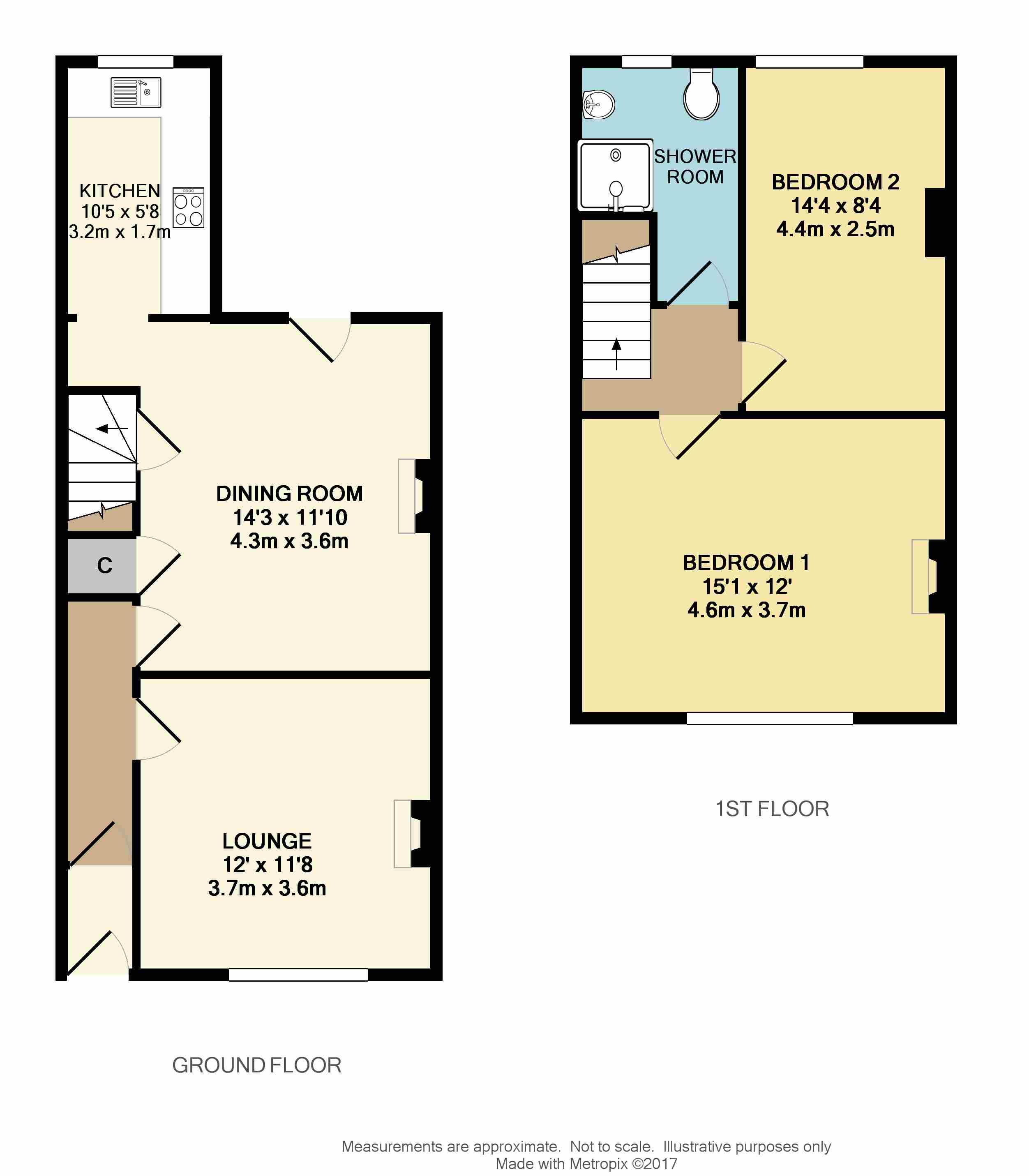 Springfield Road Elburton Pl9 2 Bedroom Cottage For Sale