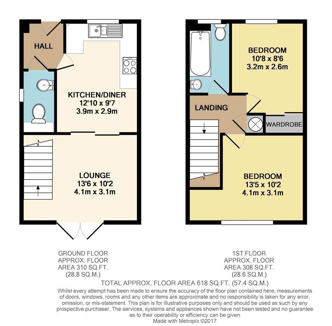 St Michaels Way Roche St Austell Pl26 2 Bedroom Semi