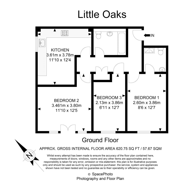 1 Bedrooms Parking/garage to rent in Little Oaks Court, 39 Warminster Road, London SE25