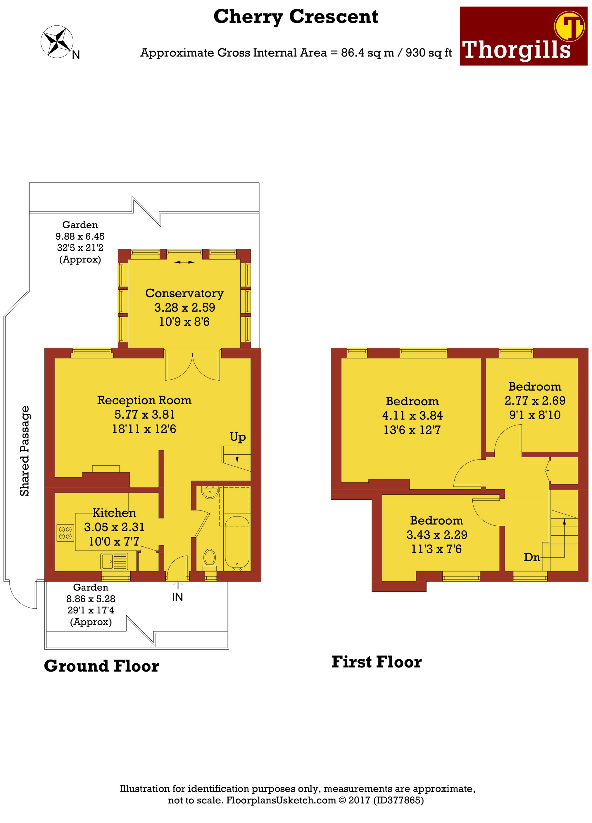 3 Bedroom Terraced House For Sale 45151487 Primelocation