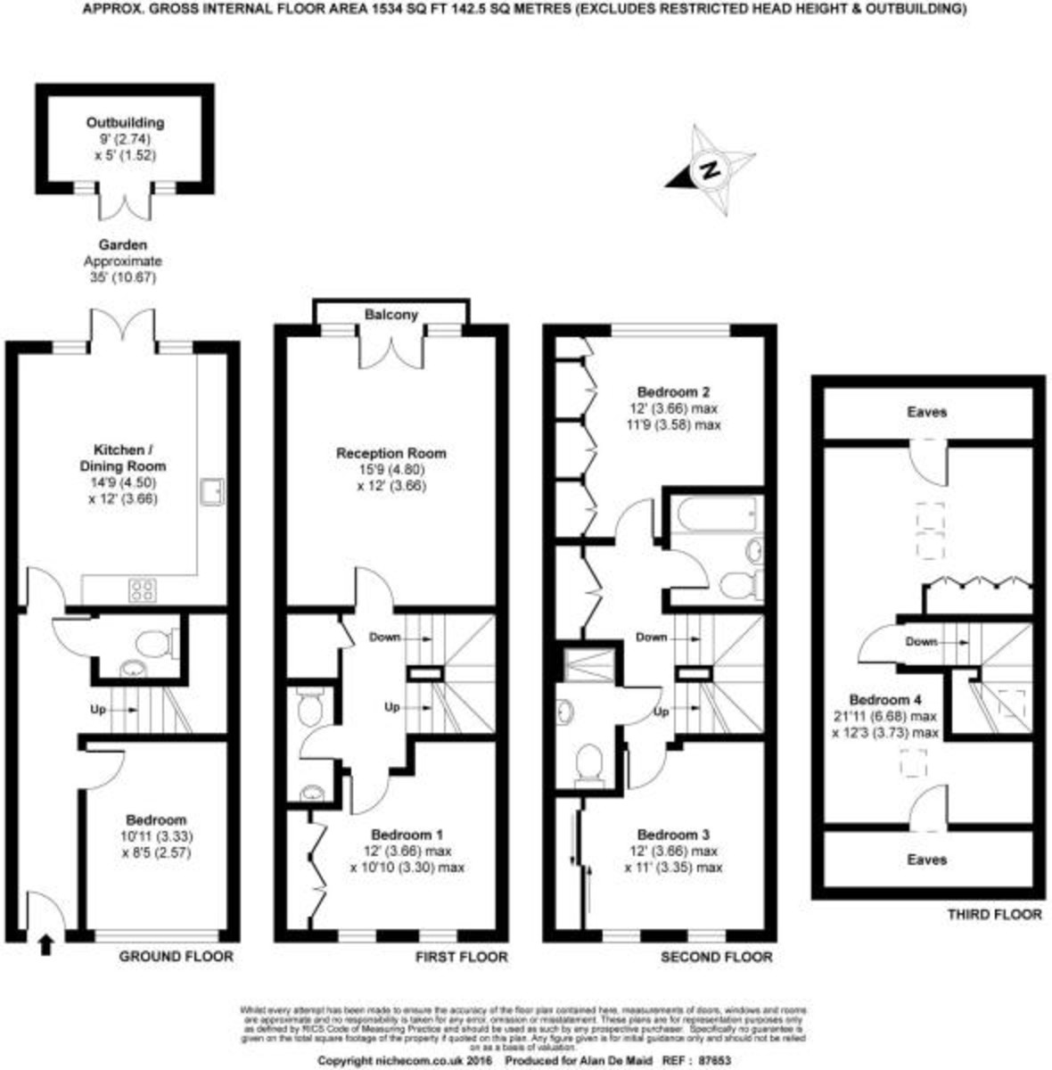 5 Bedroom Townhouse For Sale In Grace Mews Beckenham Br3 London