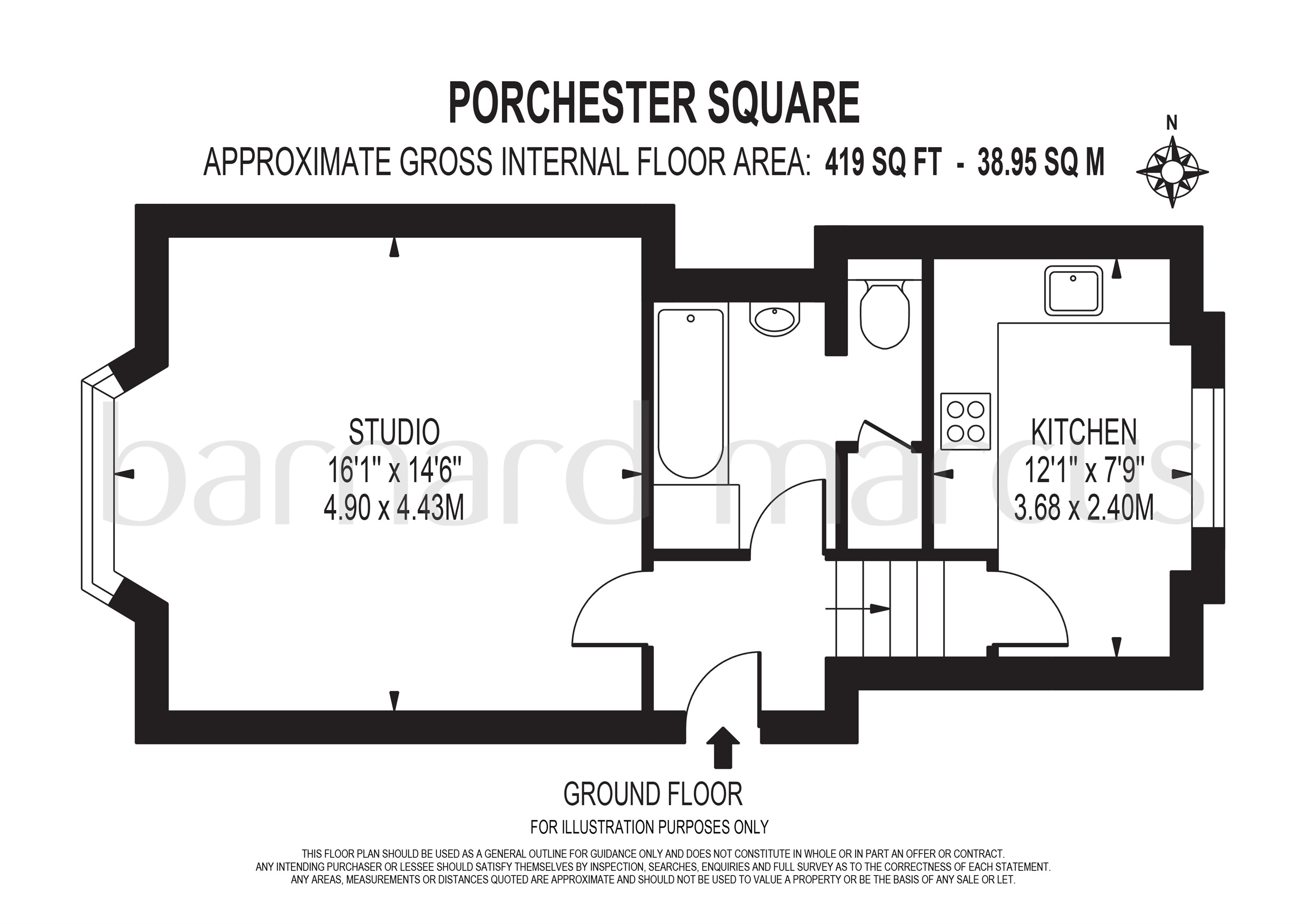 1 Bedrooms Flat for sale in Porchester Square, London W2
