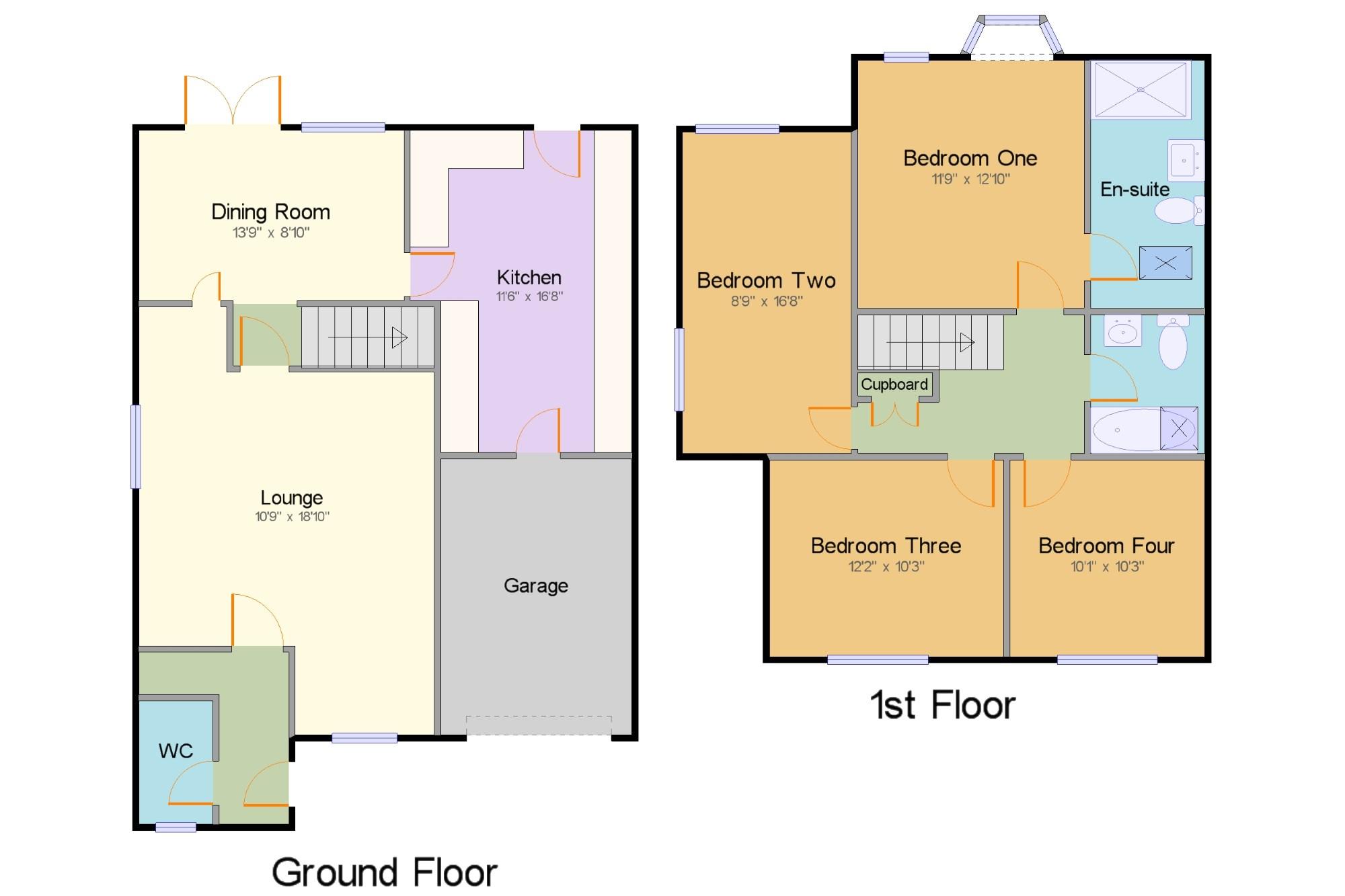 South Woodham Ferrers Chelmsford Essex CM3 4 Bedroom