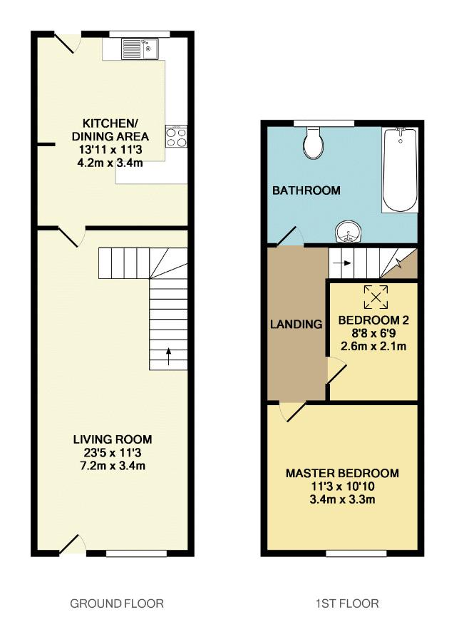 2 Bedroom Terraced House For Sale 45837086 Primelocation