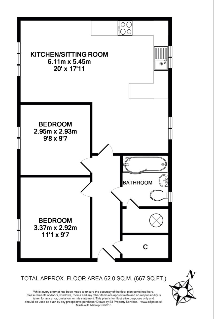 harvest way  witney  oxfordshire ox28  2 bedroom flat for