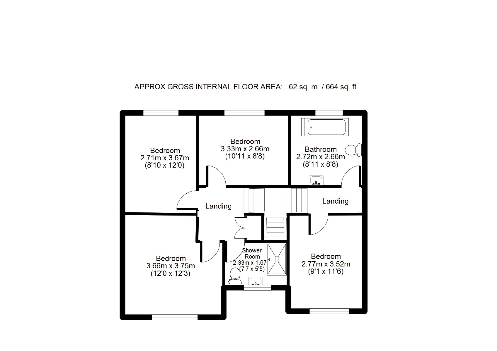 4 bed detached house for sale in glenfield drive  great