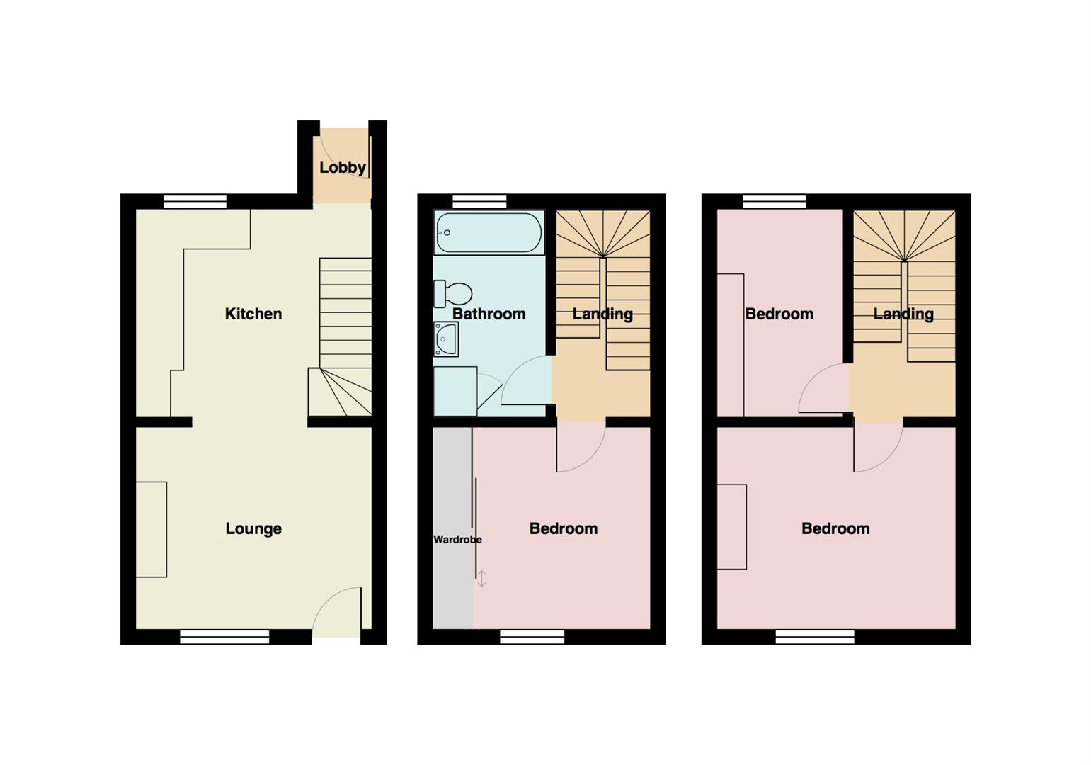 3 Bedroom Terraced House For Sale 43402815 Primelocation