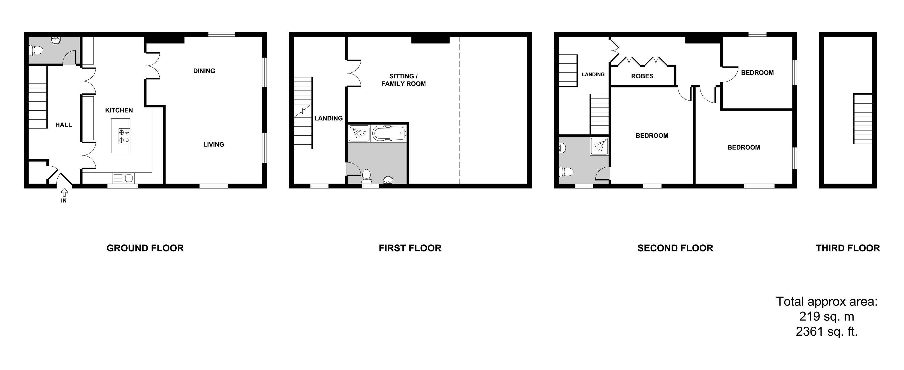 St Georges Wicklewood Wymondham Nr18 4 Bedroom Town House For Sale 46010281 Primelocation