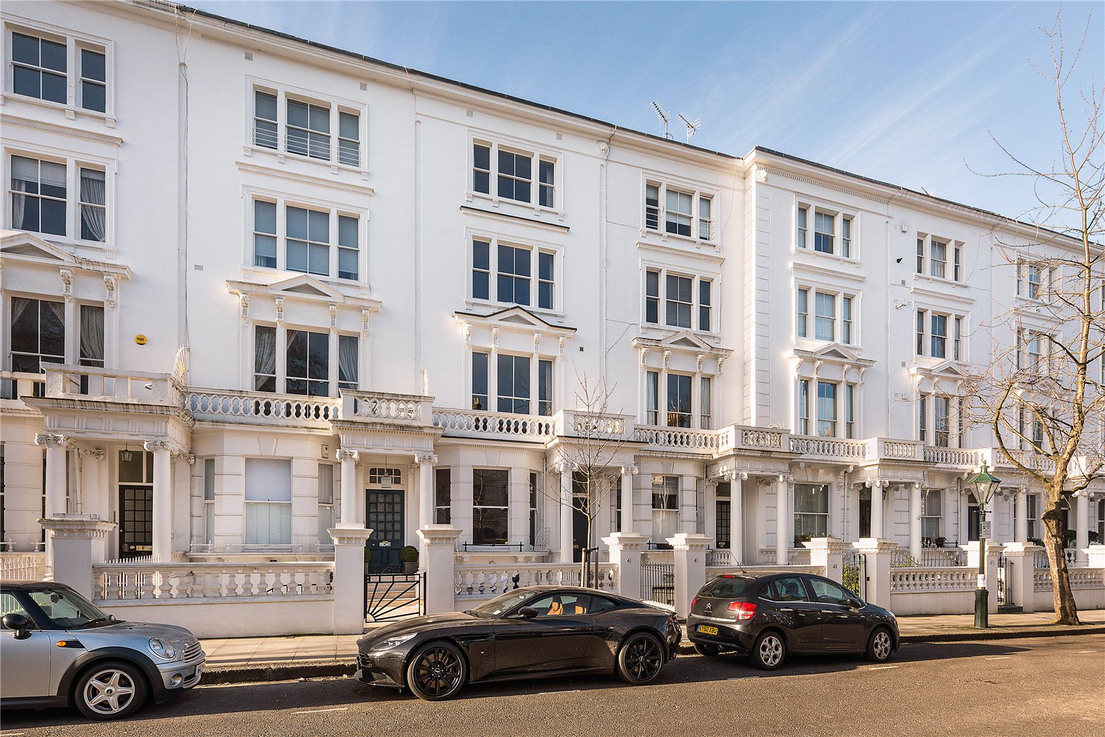 4 bedroom flat for sale in Palace Gardens Terrace ...