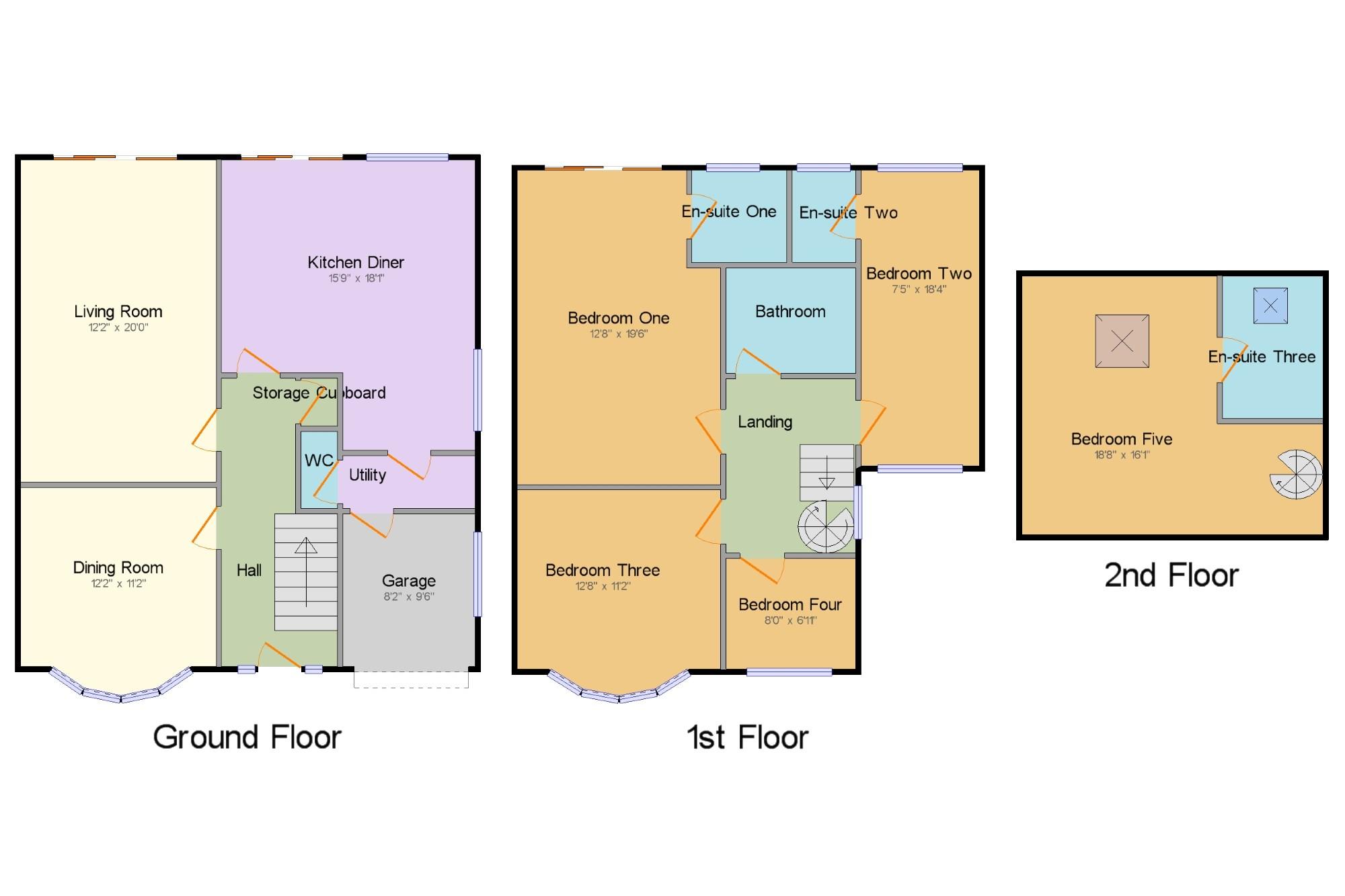 Bed Room House For Sale Kingsway East Didsbury