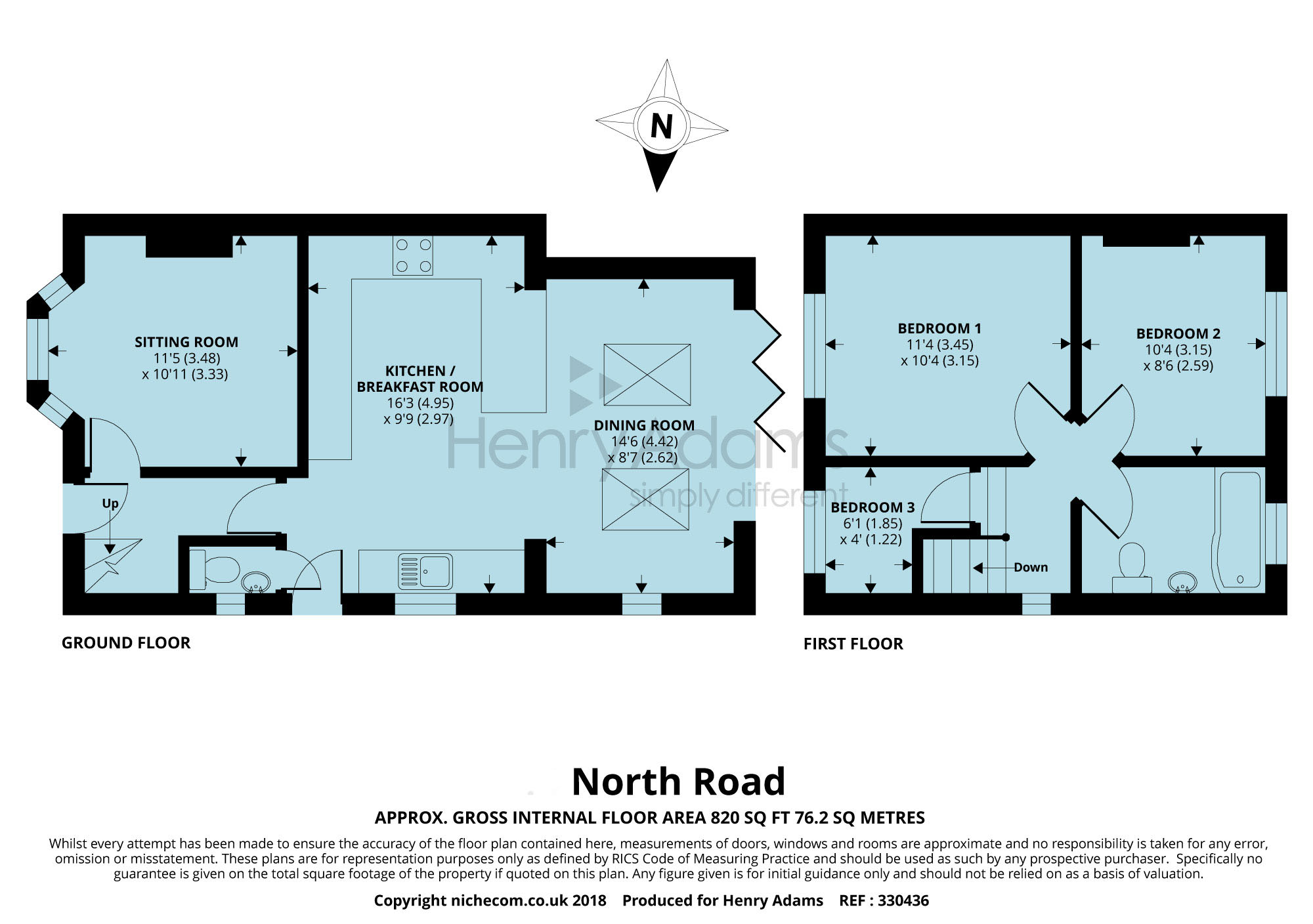 3 bed semi-detached house for sale in North Road, Haywards Heath ...