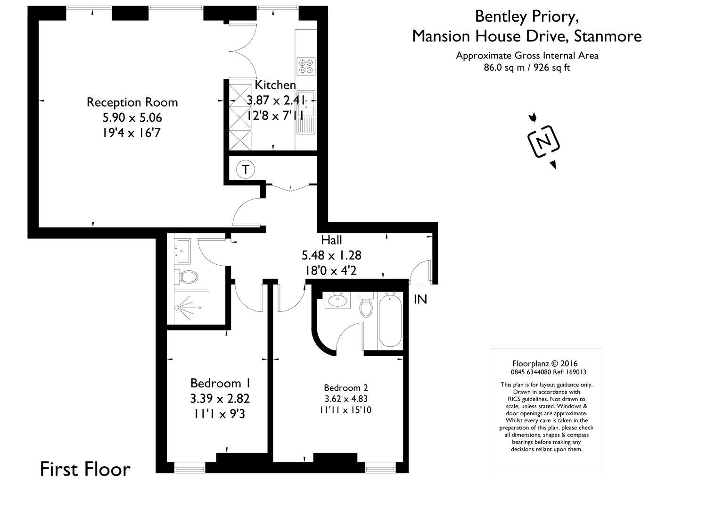 2 Bedroom Flat For Sale 41959174 Primelocation