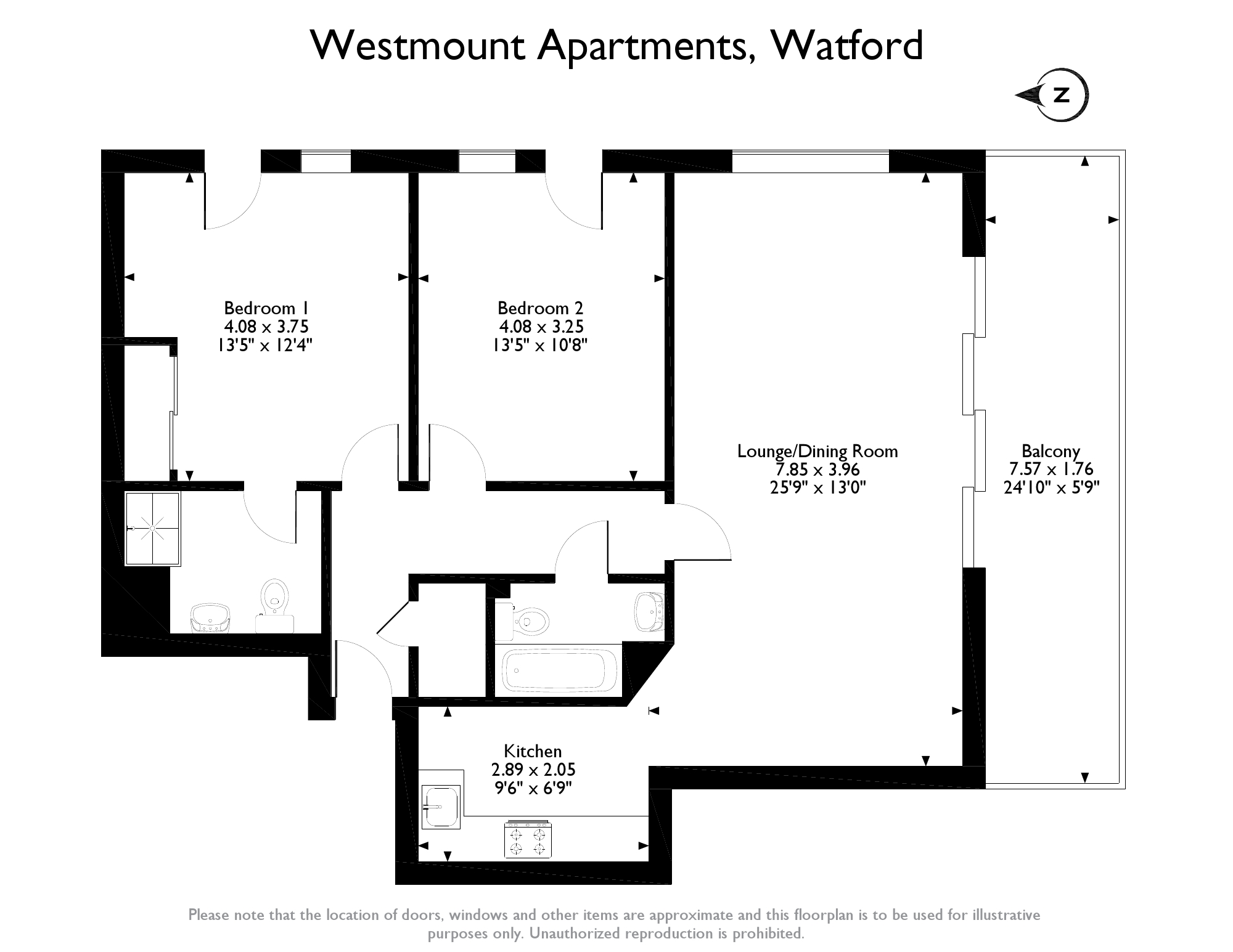 Westmount Apartments Watford Wd18 2 Bedroom Flat For Sale 46066455 Primelocation